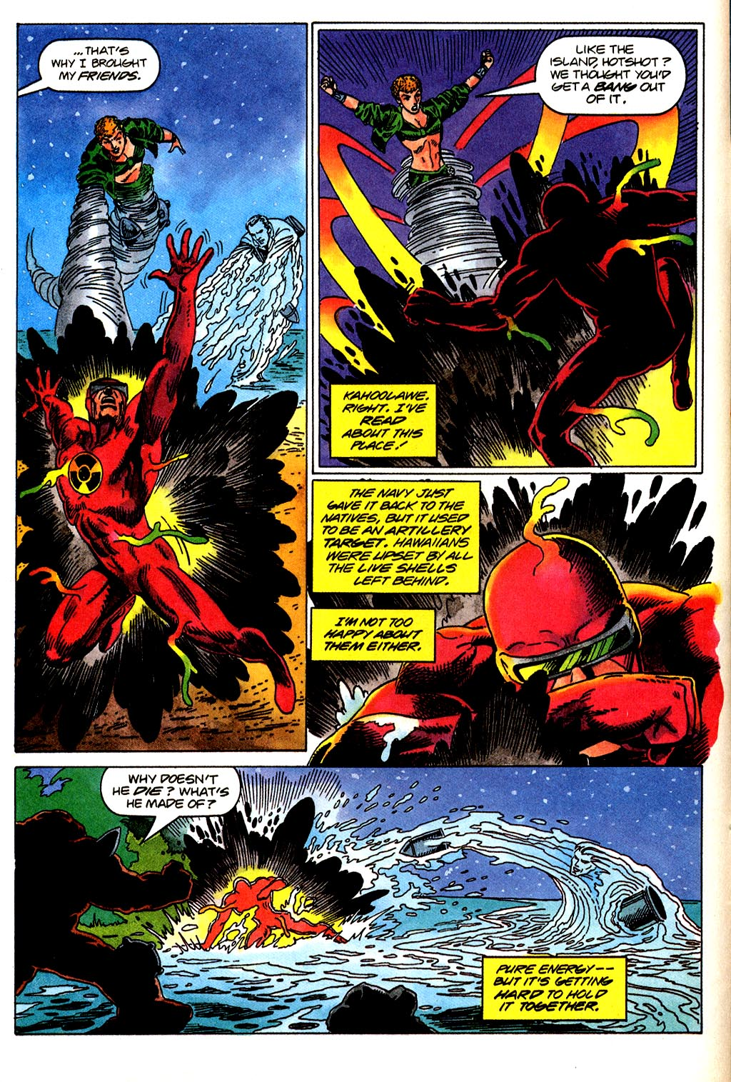 Read online Solar, Man of the Atom comic -  Issue #43 - 11