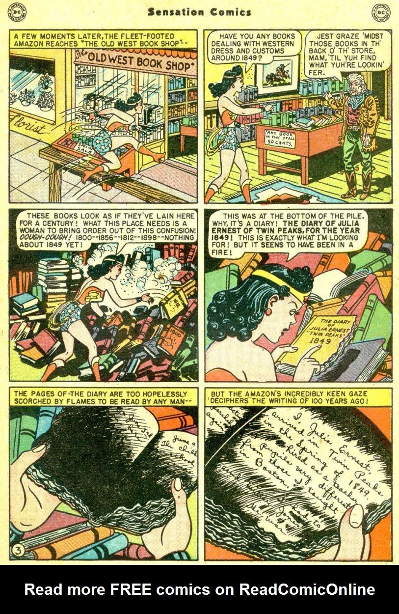 Read online Sensation (Mystery) Comics comic -  Issue #87 - 5