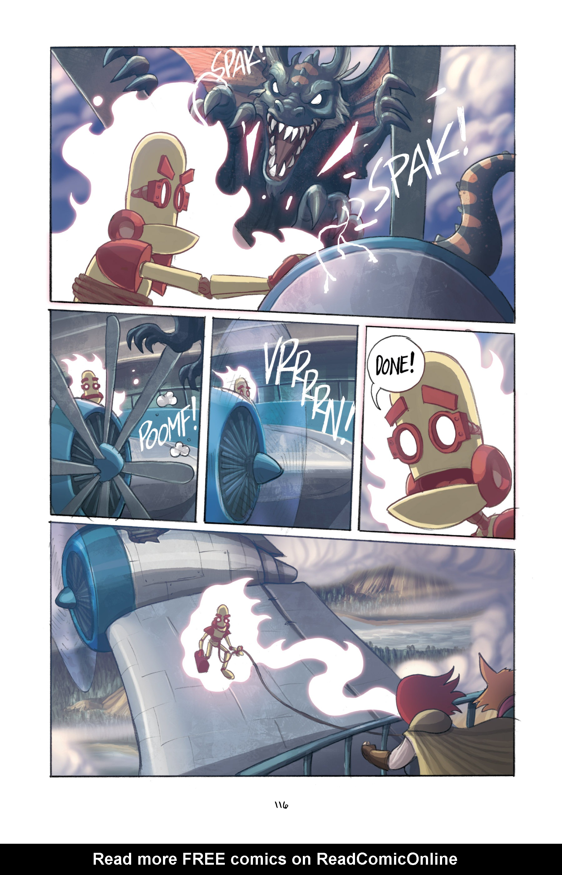 Read online Amulet comic -  Issue #3 - 114