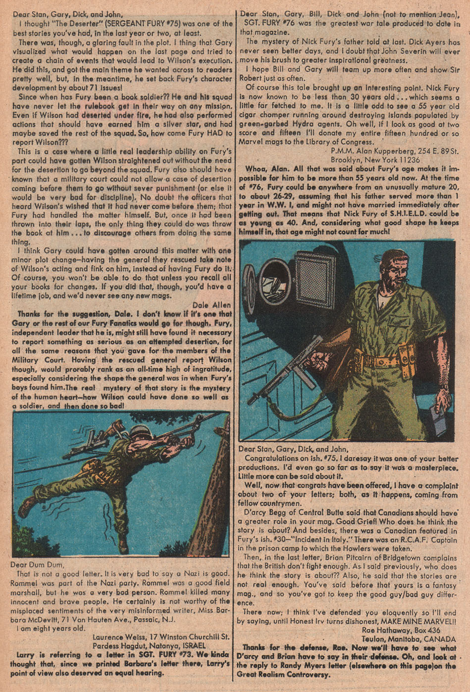 Read online Sgt. Fury comic -  Issue #79 - 33