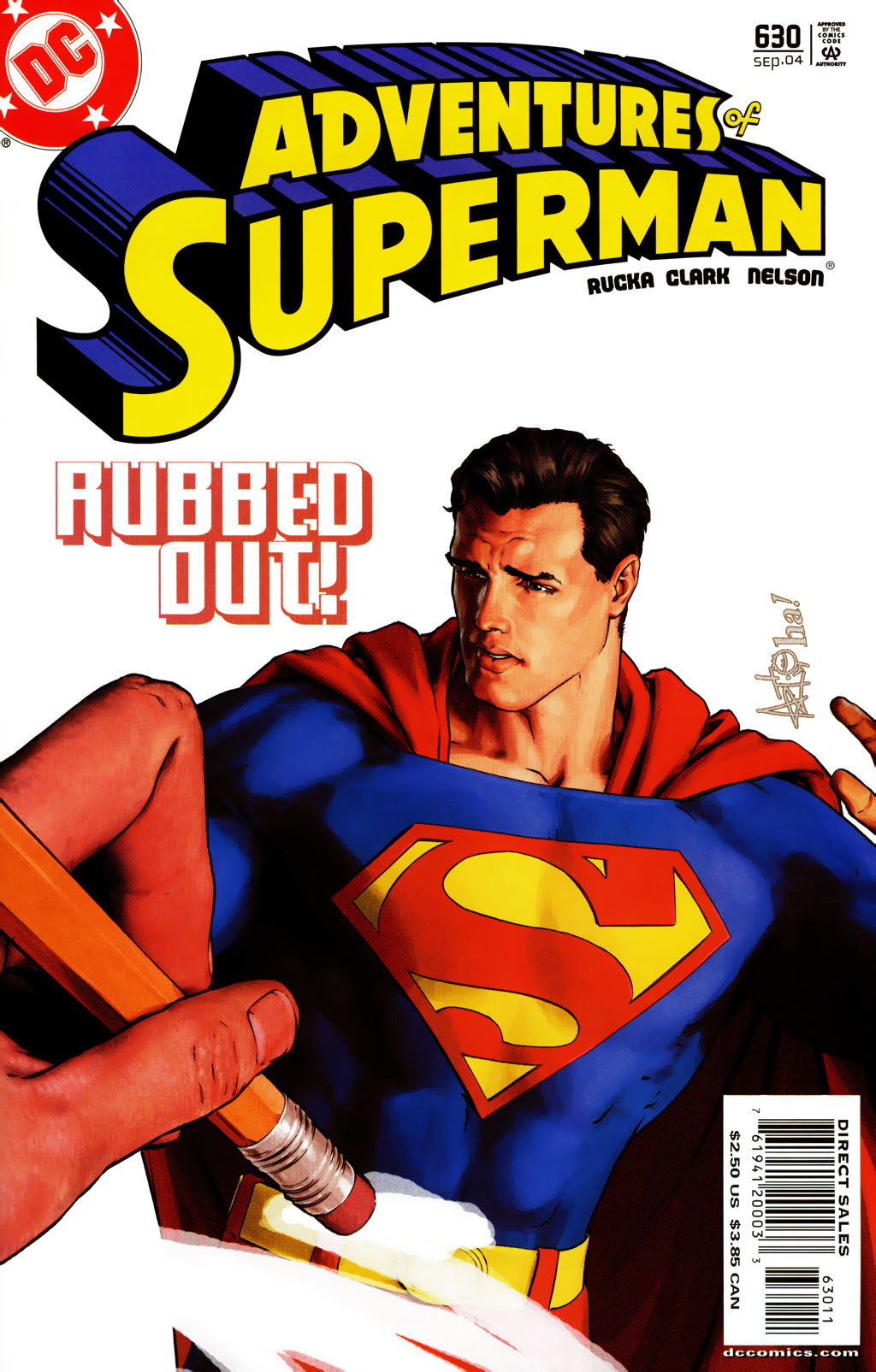 Read online Adventures of Superman (1987) comic -  Issue #630 - 1