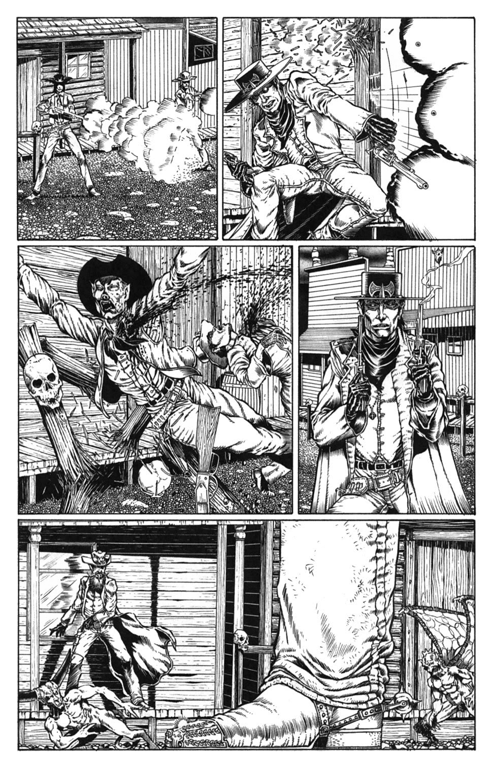 Read online Gunfighters in Hell comic -  Issue #3 - 23