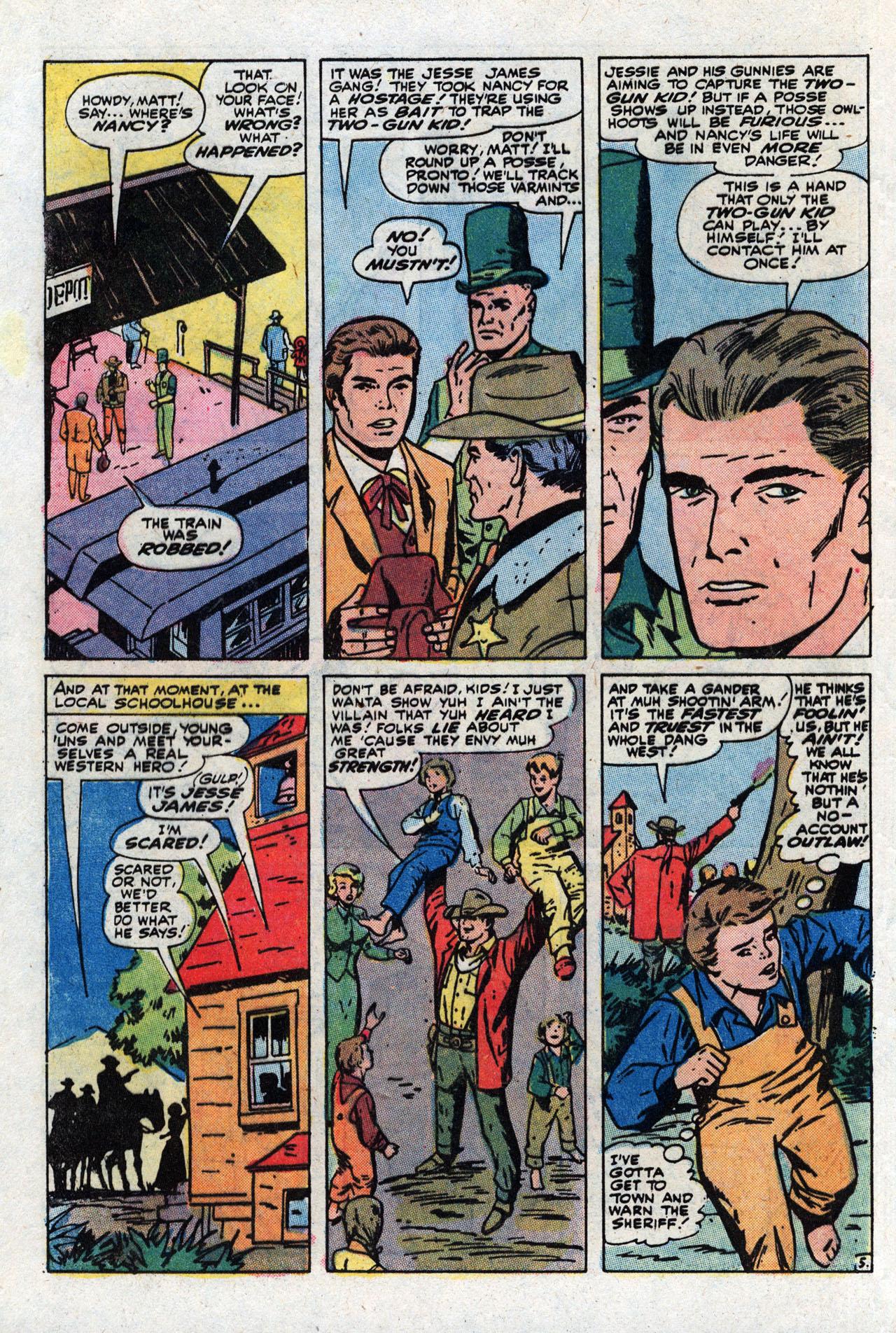 Read online Two-Gun Kid comic -  Issue #111 - 8