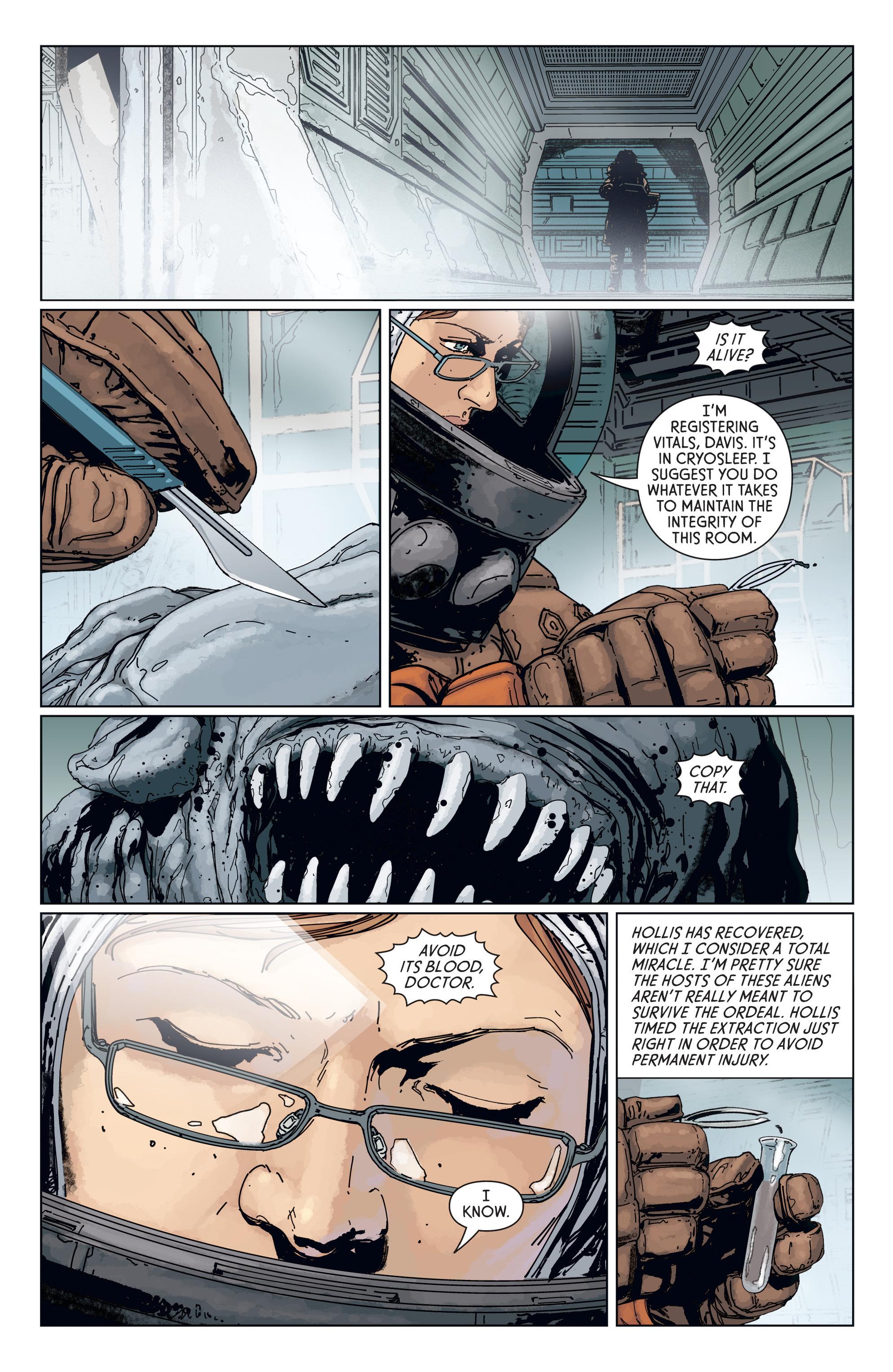 Read online Aliens: Defiance comic -  Issue #7 - 22