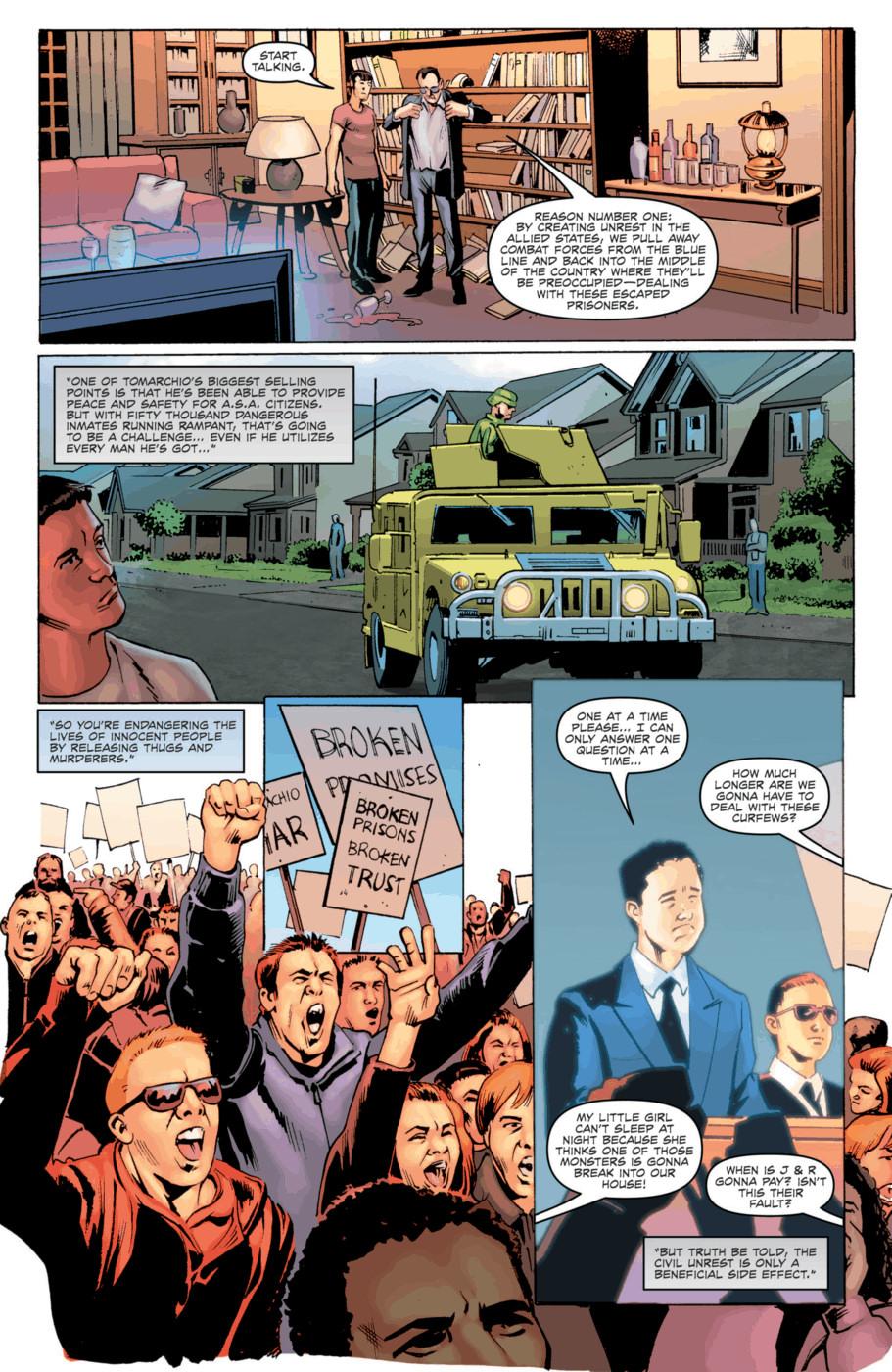 Read online Jericho Season 4 comic -  Issue #2 - 14