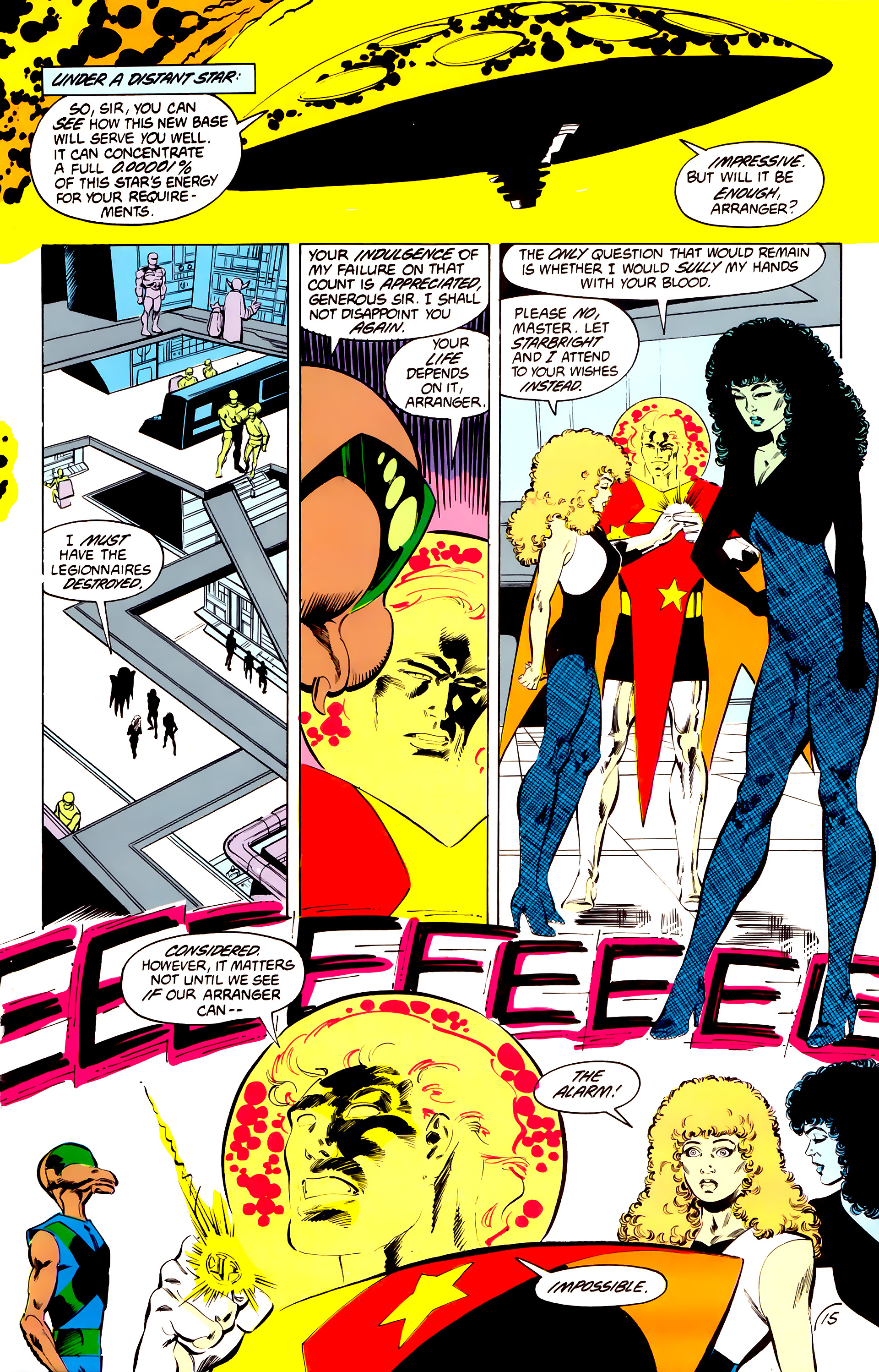 Legion of Super-Heroes (1984) 41 Page 15
