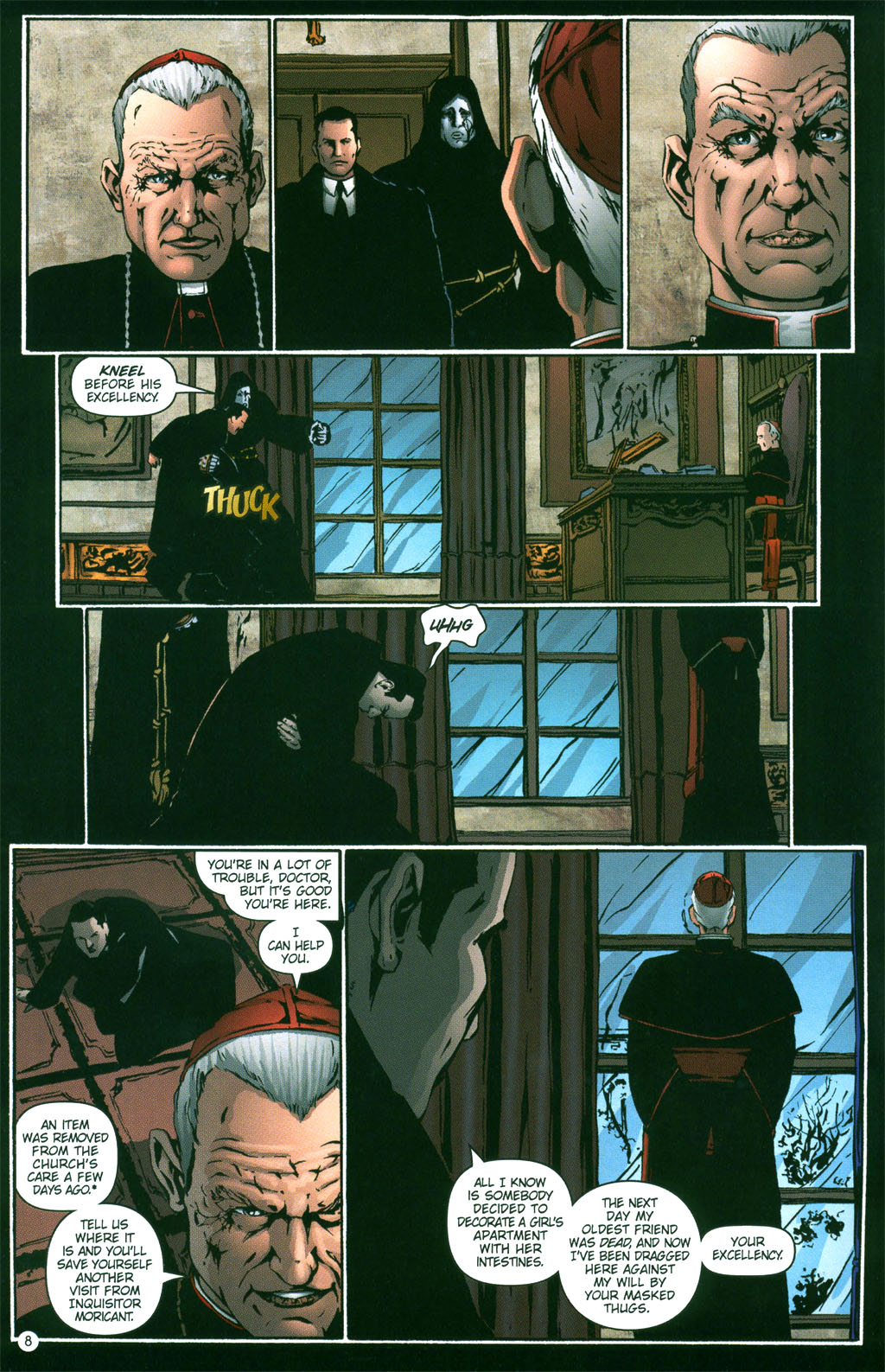 Read online Rex Mundi comic -  Issue #3 - 10