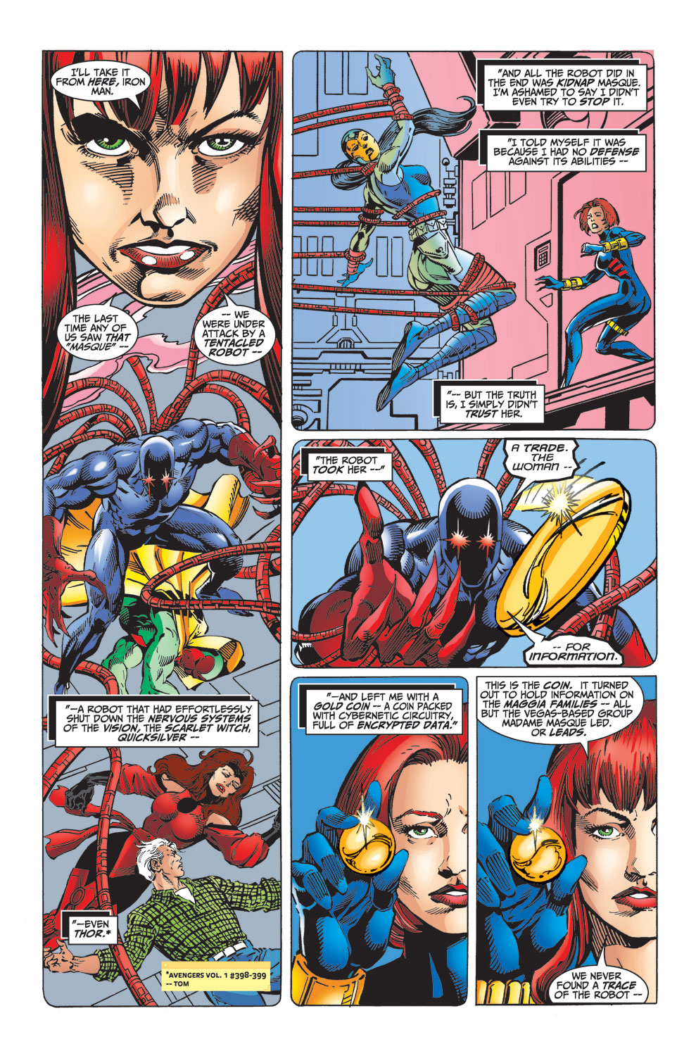 Read online Avengers (1998) comic -  Issue #32 - 10