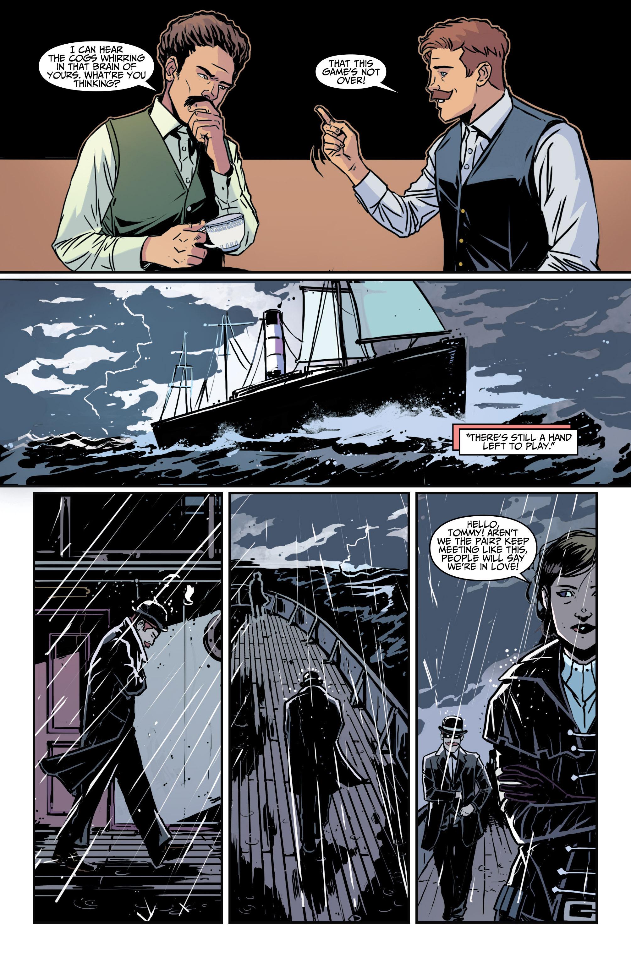 Read online Assassin's Creed: Locus comic -  Issue #4 - 20