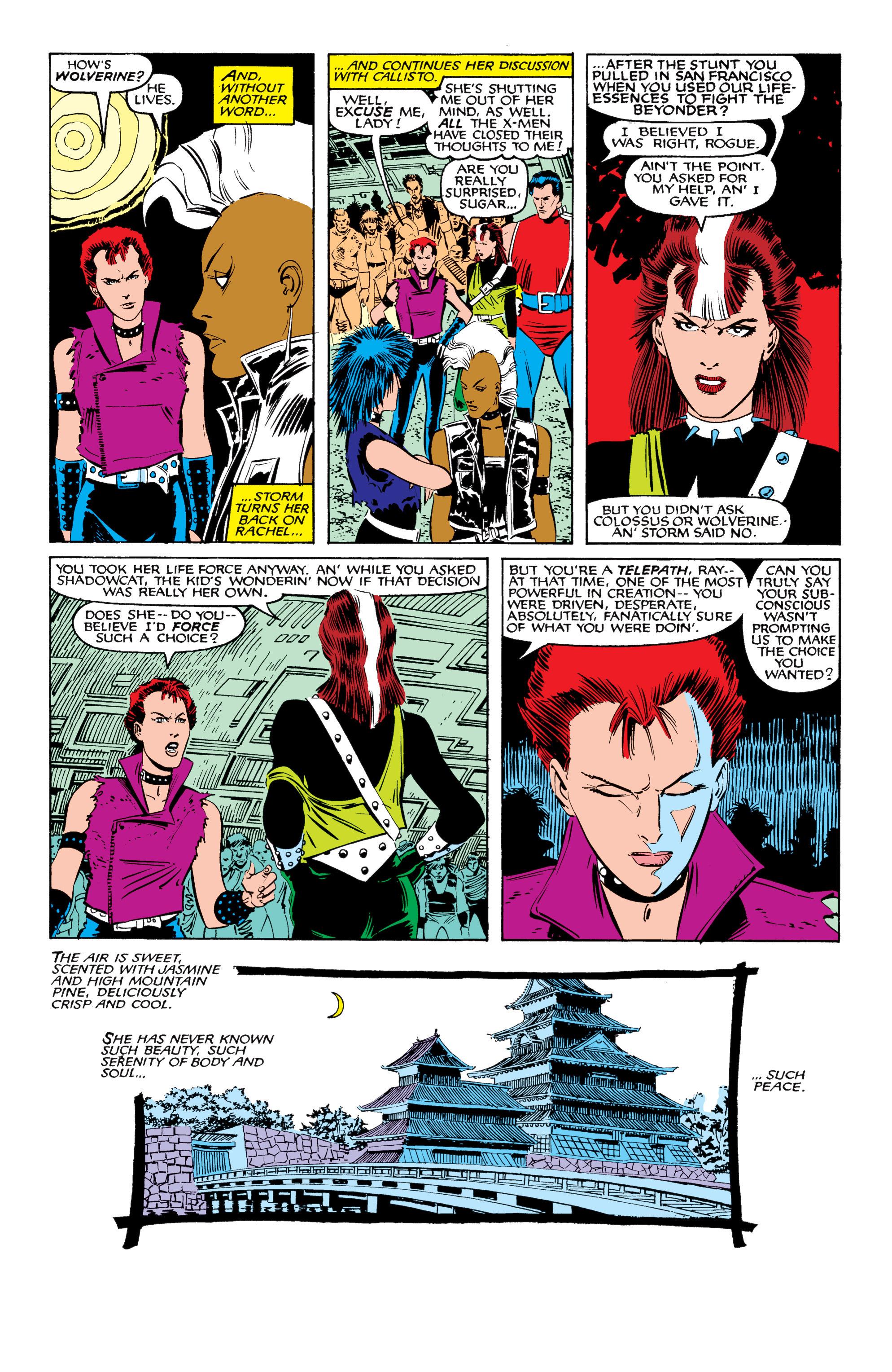 Read online Uncanny X-Men (1963) comic -  Issue #207 - 10