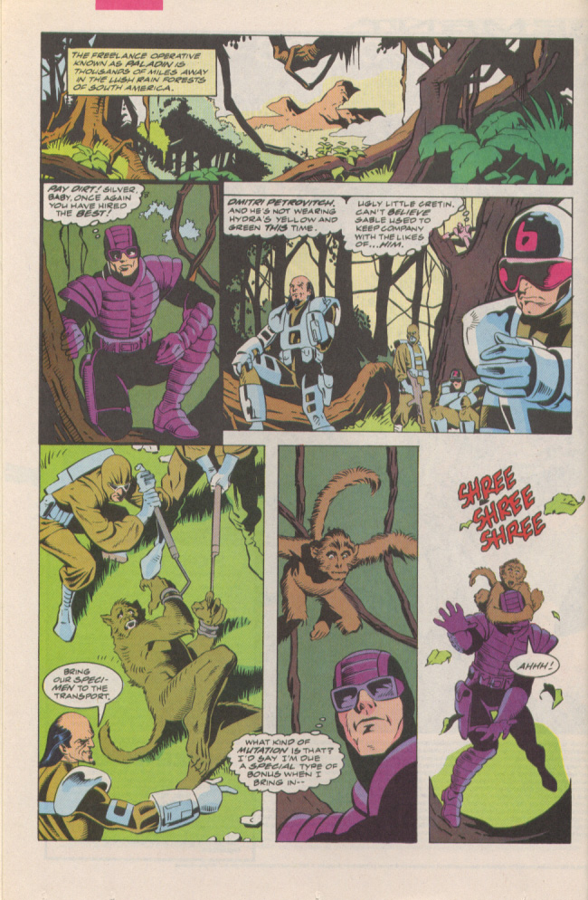 Read online Silver Sable and the Wild Pack comic -  Issue #6 - 8