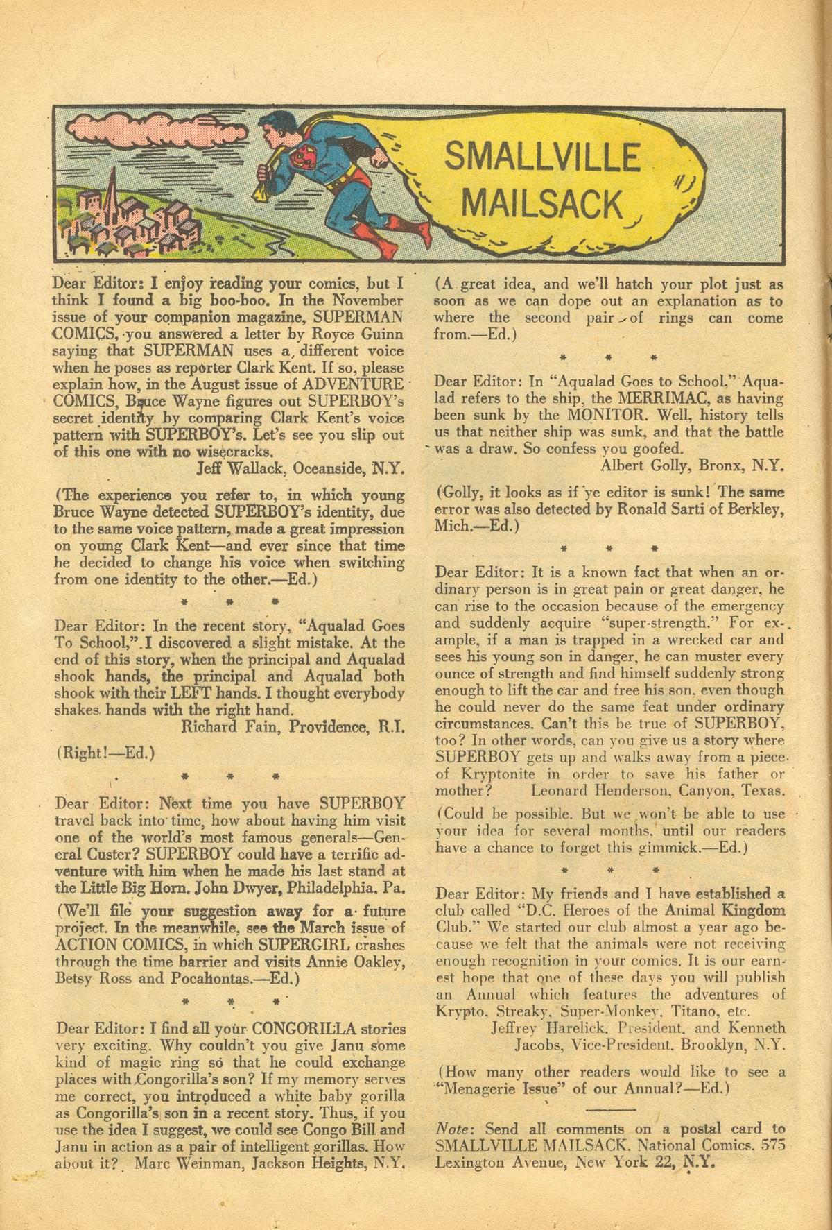 Read online Adventure Comics (1938) comic -  Issue #281 - 16