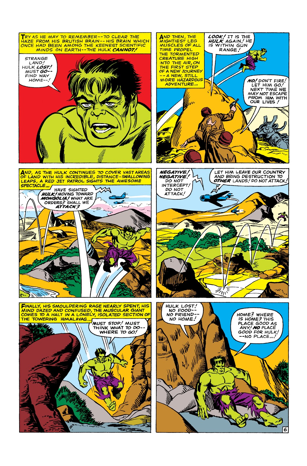 Read online Marvel Masterworks: The Incredible Hulk comic -  Issue # TPB 2 (Part 2) - 7