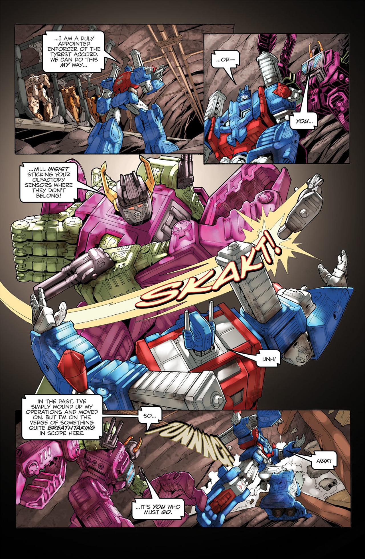 Read online Transformers Spotlight: Ultra Magnus comic -  Issue # Full - 20