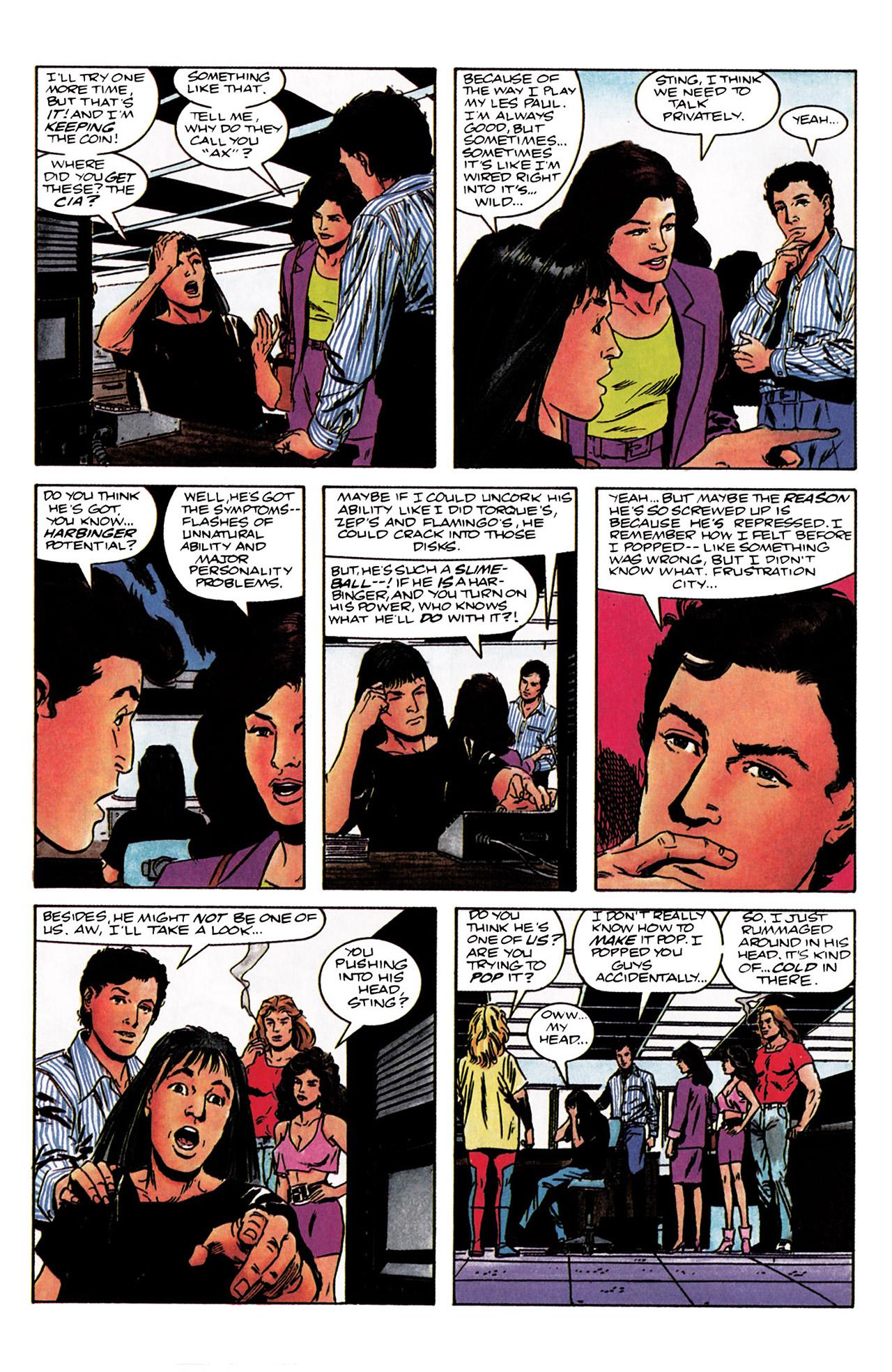Read online Harbinger (1992) comic -  Issue #3 - 7