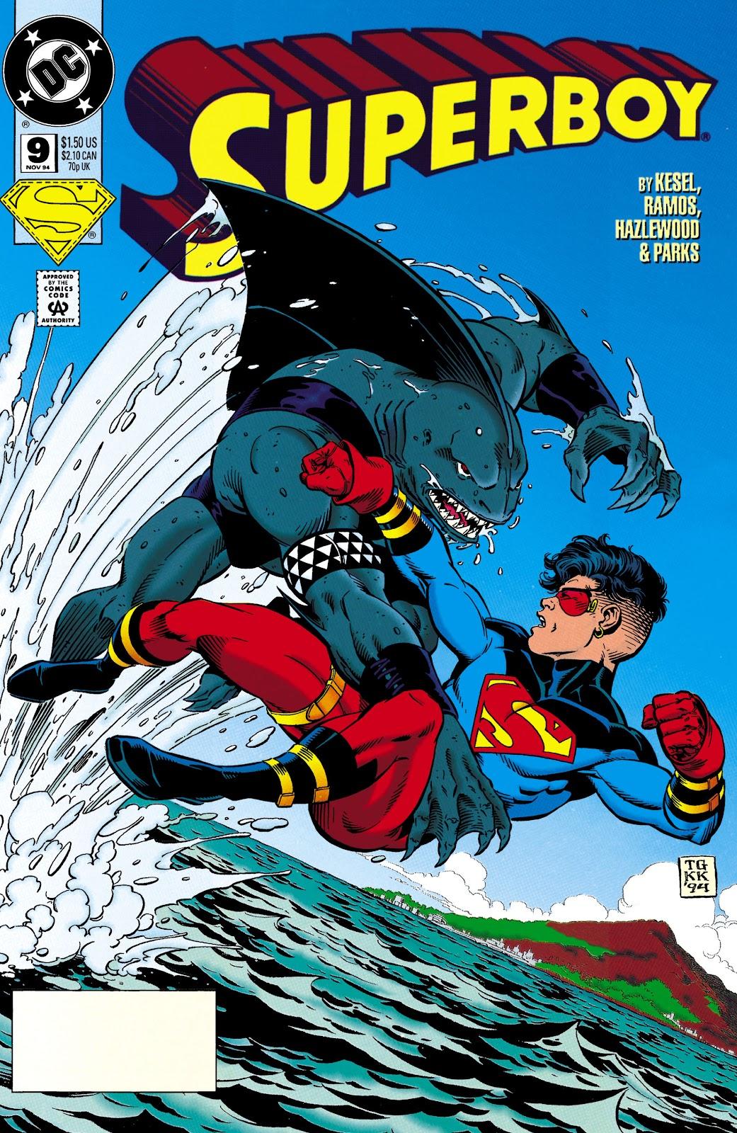 Superboy (1994) 9 Page 1