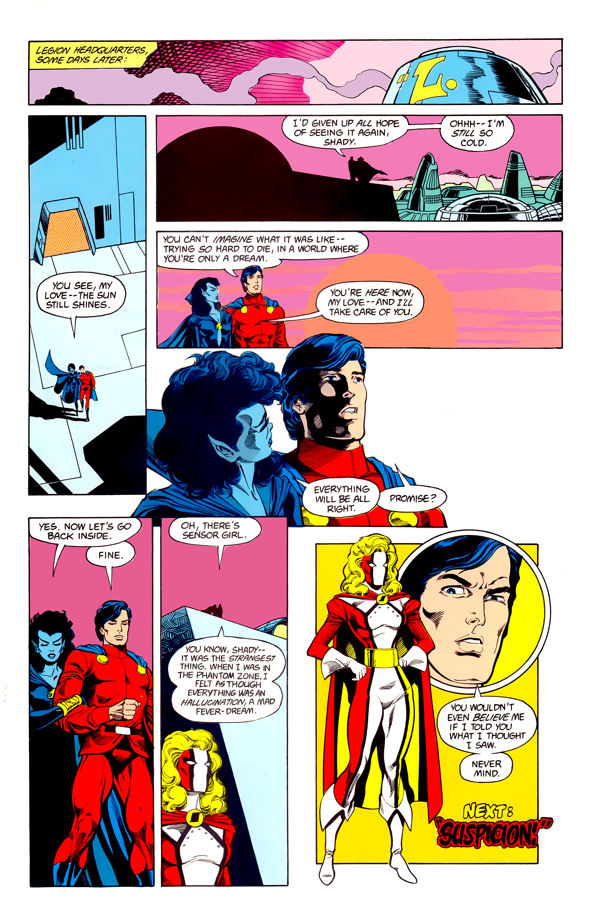 Legion of Super-Heroes (1984) 23 Page 29