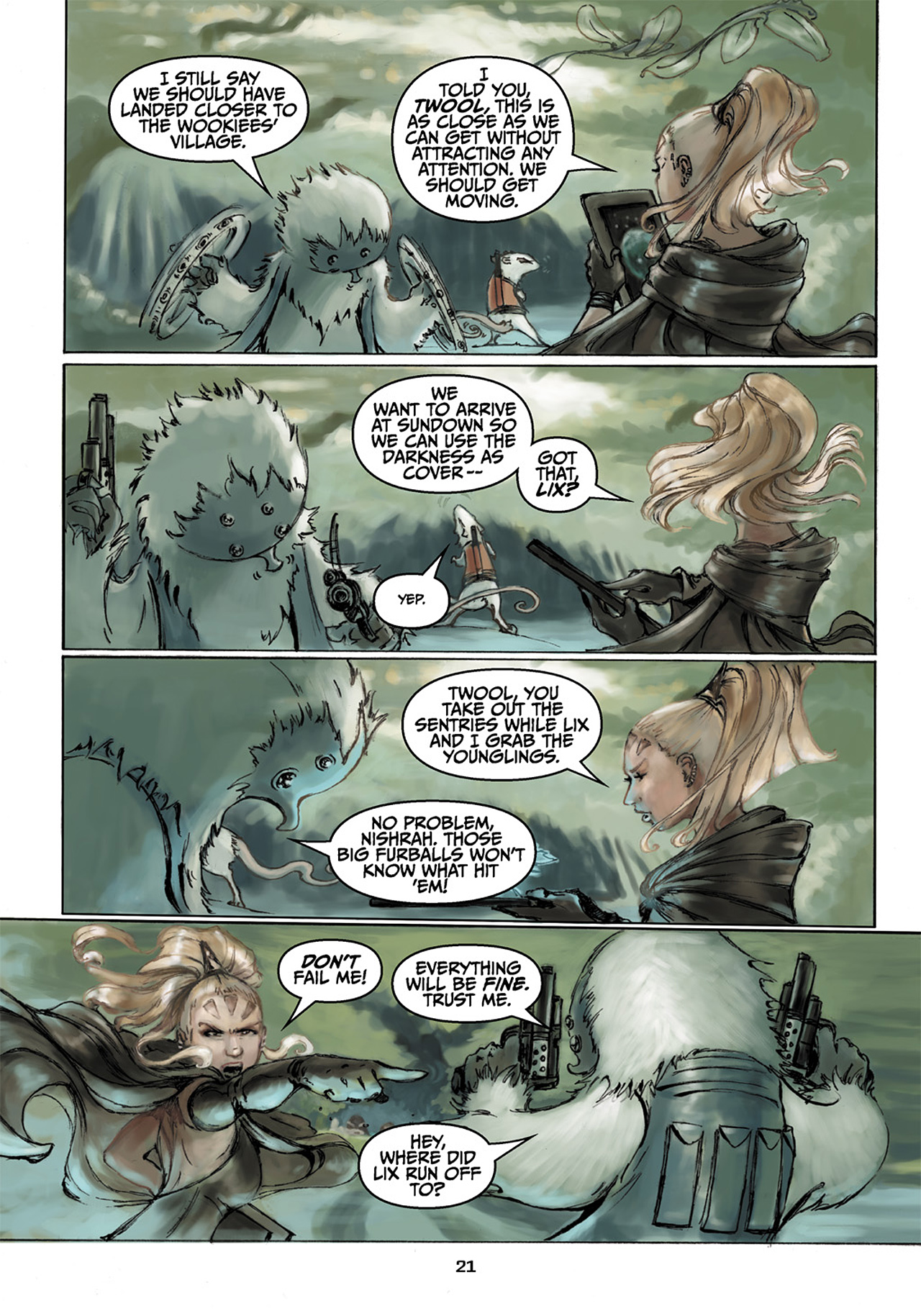 Read online Star Wars Omnibus comic -  Issue # Vol. 33 - 419