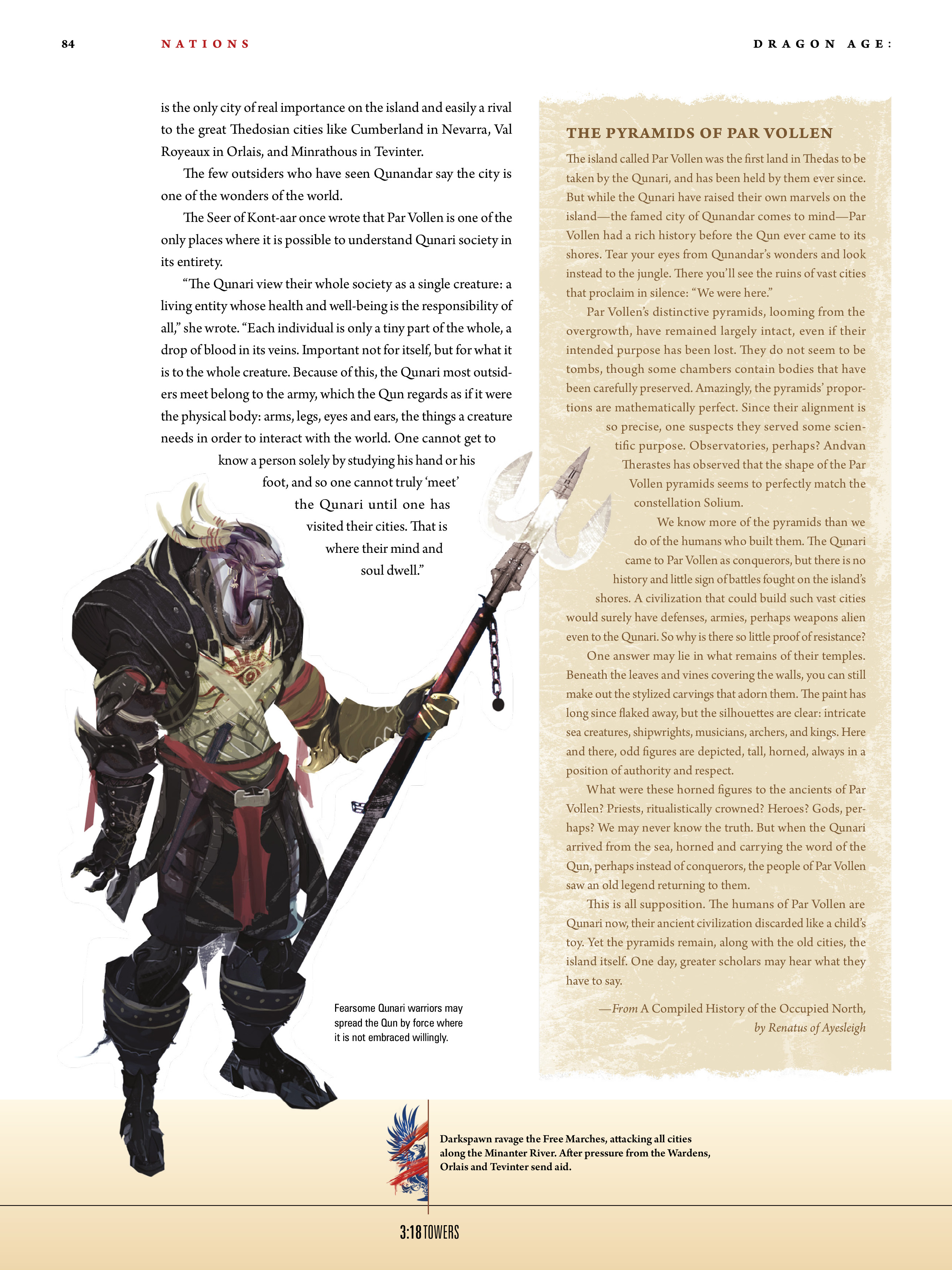 Read online Dragon Age: The World of Thedas comic -  Issue # TPB 1 - 68