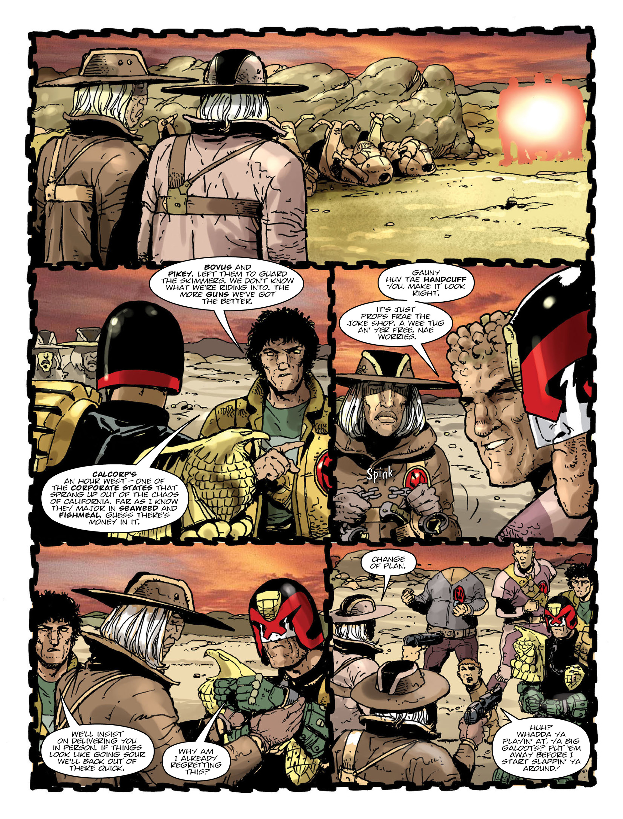 Read online 2000 AD comic -  Issue #2000 - 7