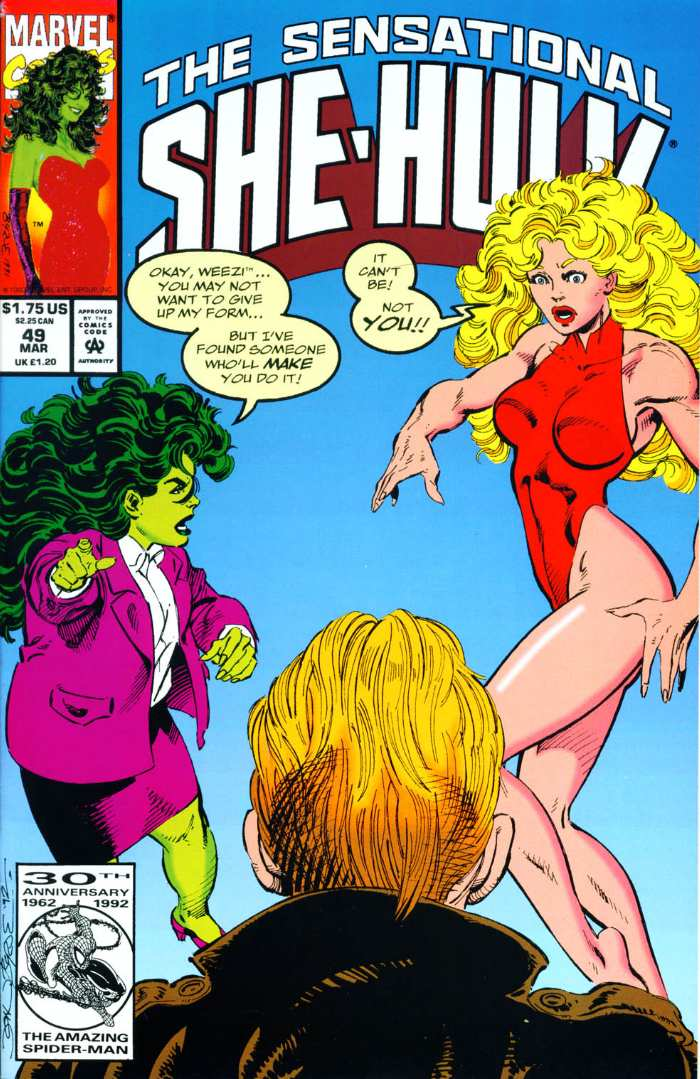 The Sensational She-Hulk Issue #49 #49 - English 2