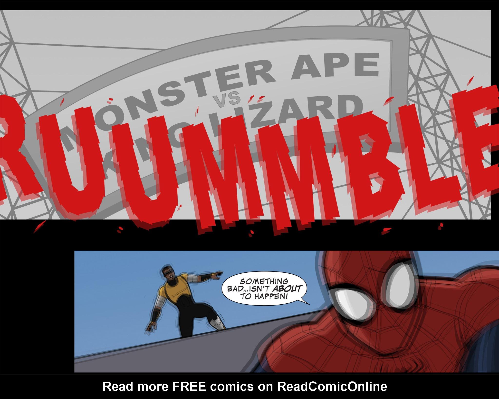 Read online Ultimate Spider-Man (Infinite Comics) (2015) comic -  Issue #10 - 39