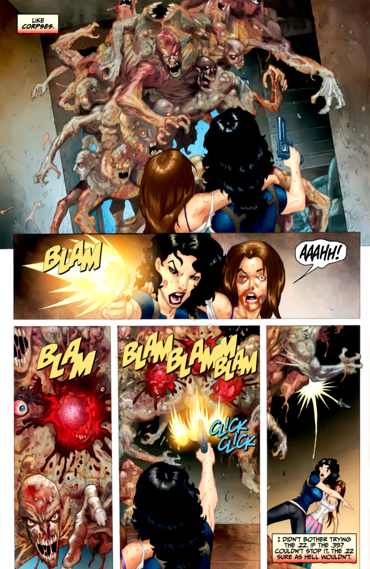 Read online Anita Blake: The Laughing Corpse - Executioner comic -  Issue #4 - 12