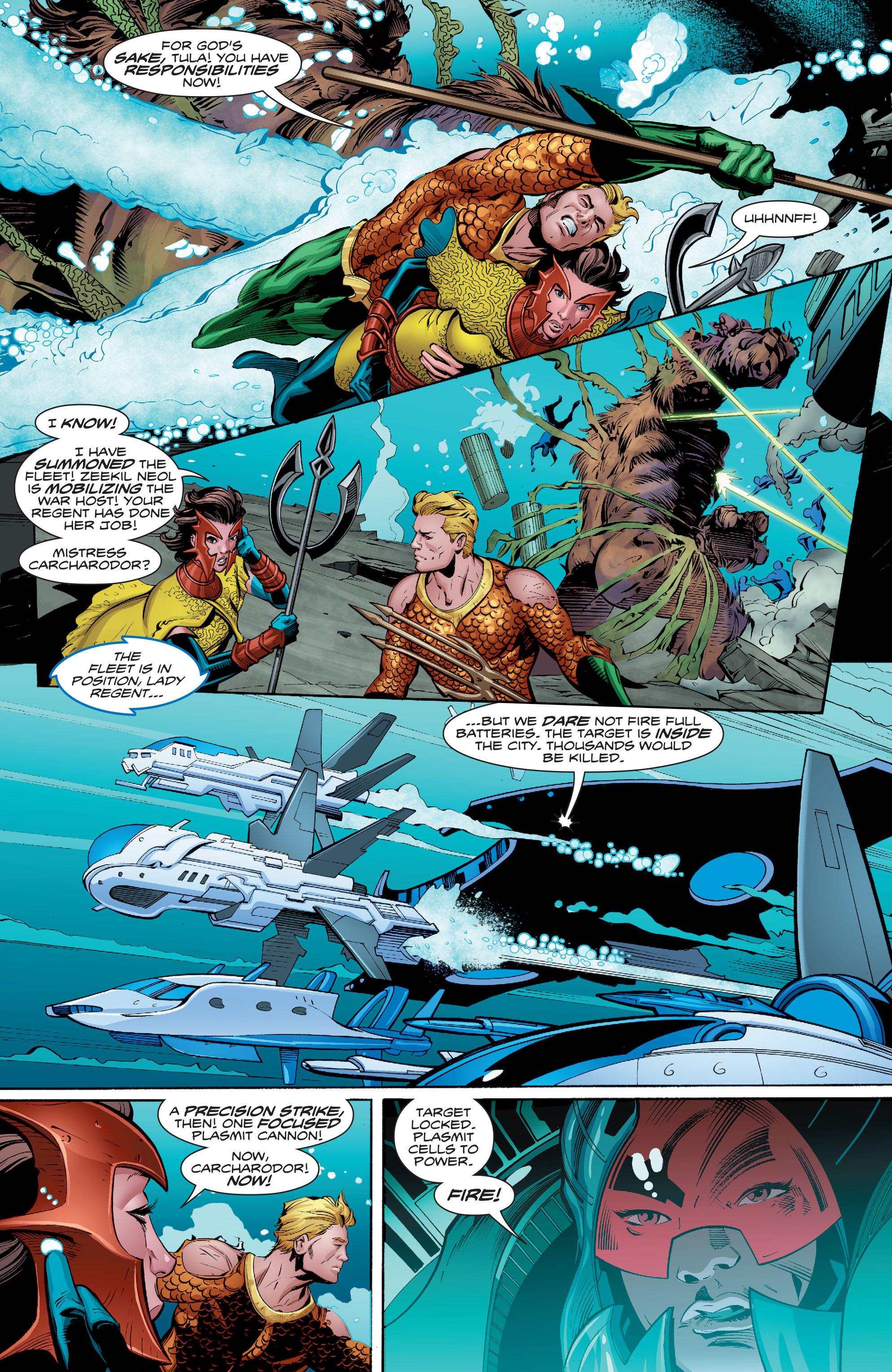 Read online Aquaman (2016) comic -  Issue #8 - 18