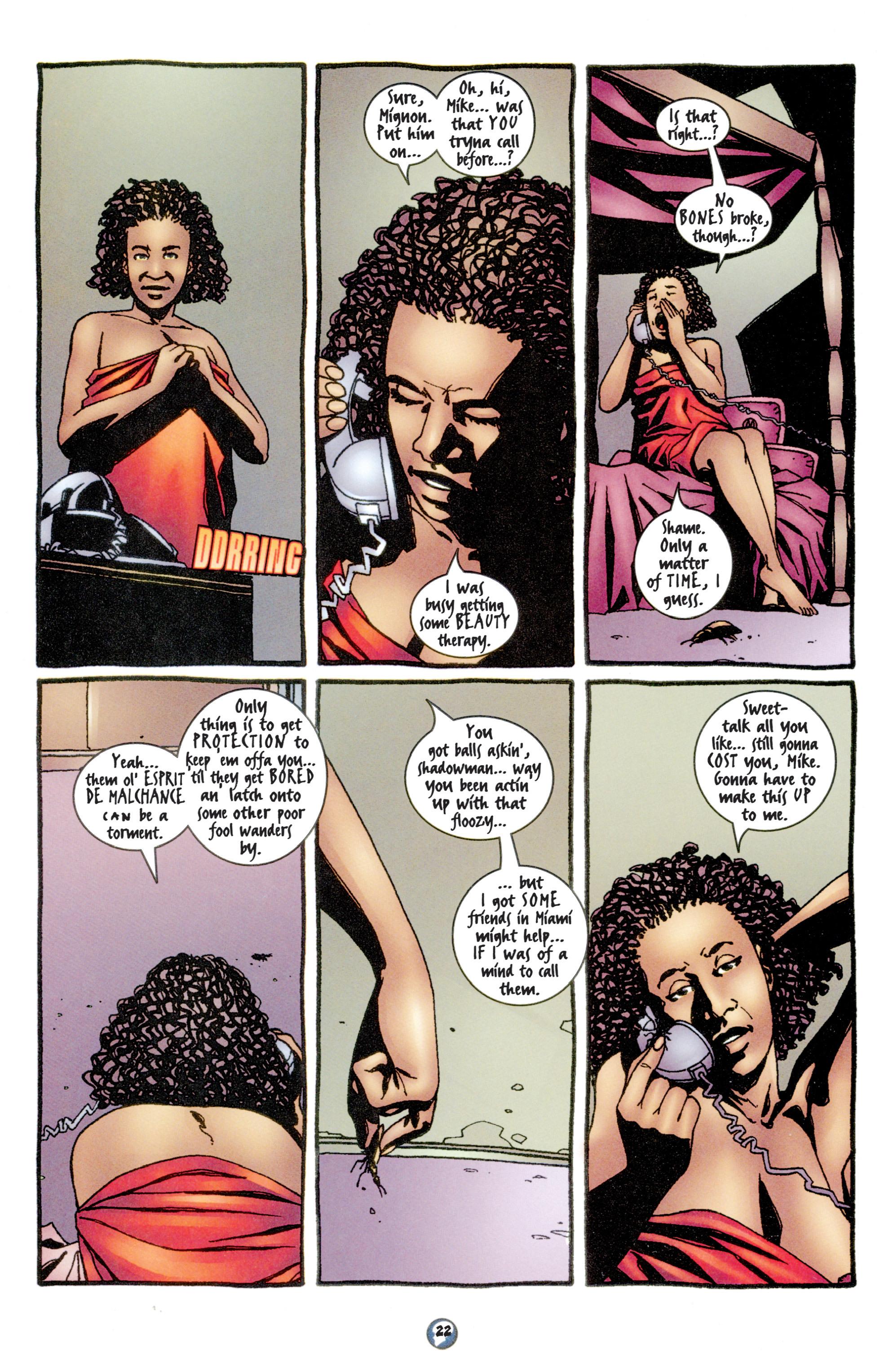 Read online Shadowman (1997) comic -  Issue #11 - 18