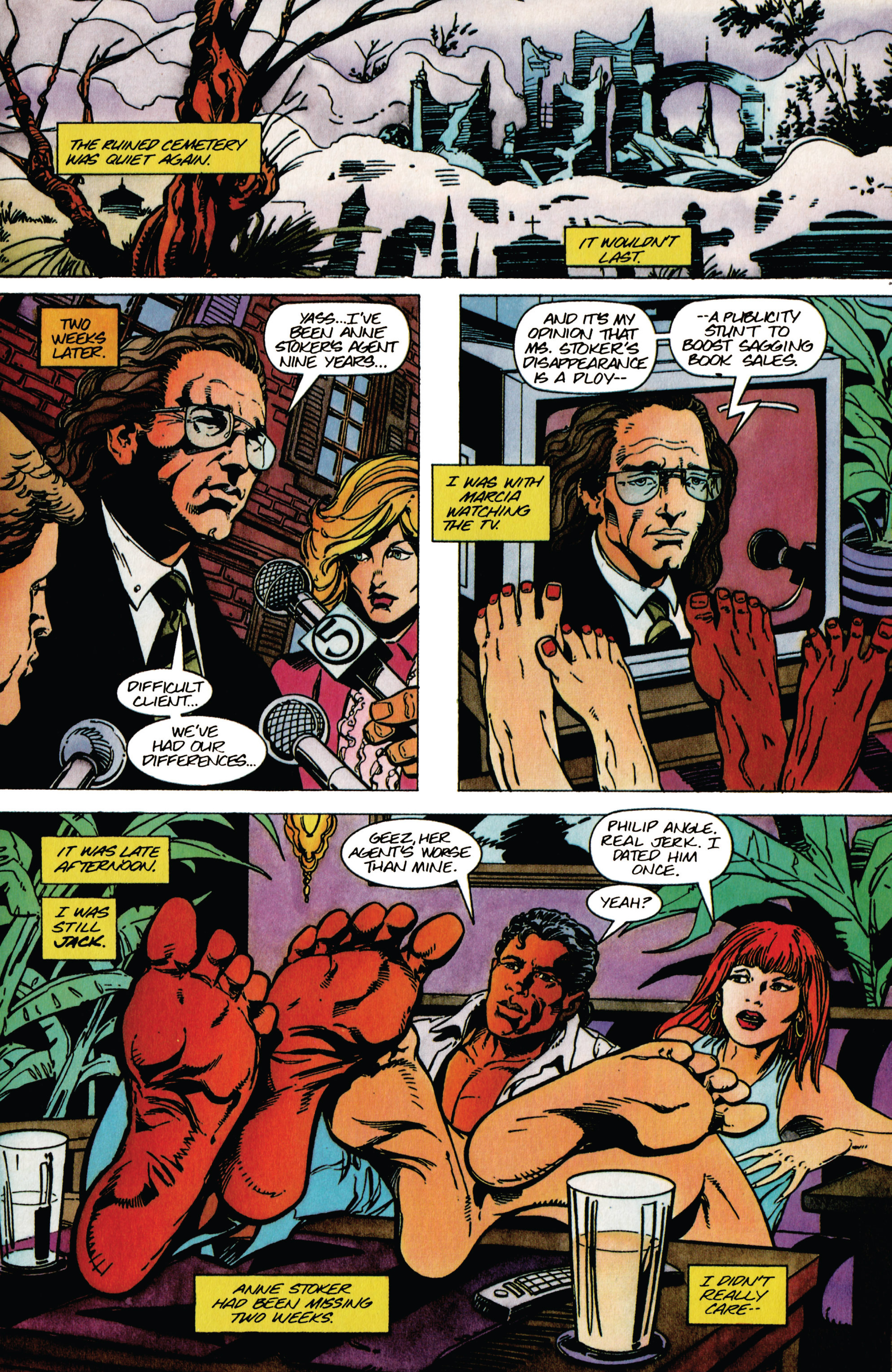 Read online Shadowman (1992) comic -  Issue #40 - 4