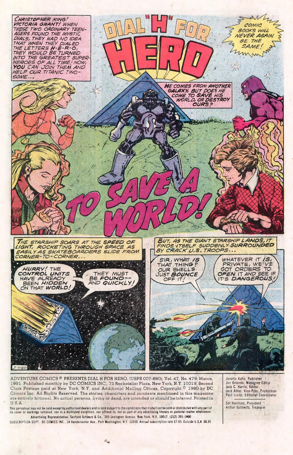 Read online Adventure Comics (1938) comic -  Issue #479 - 2