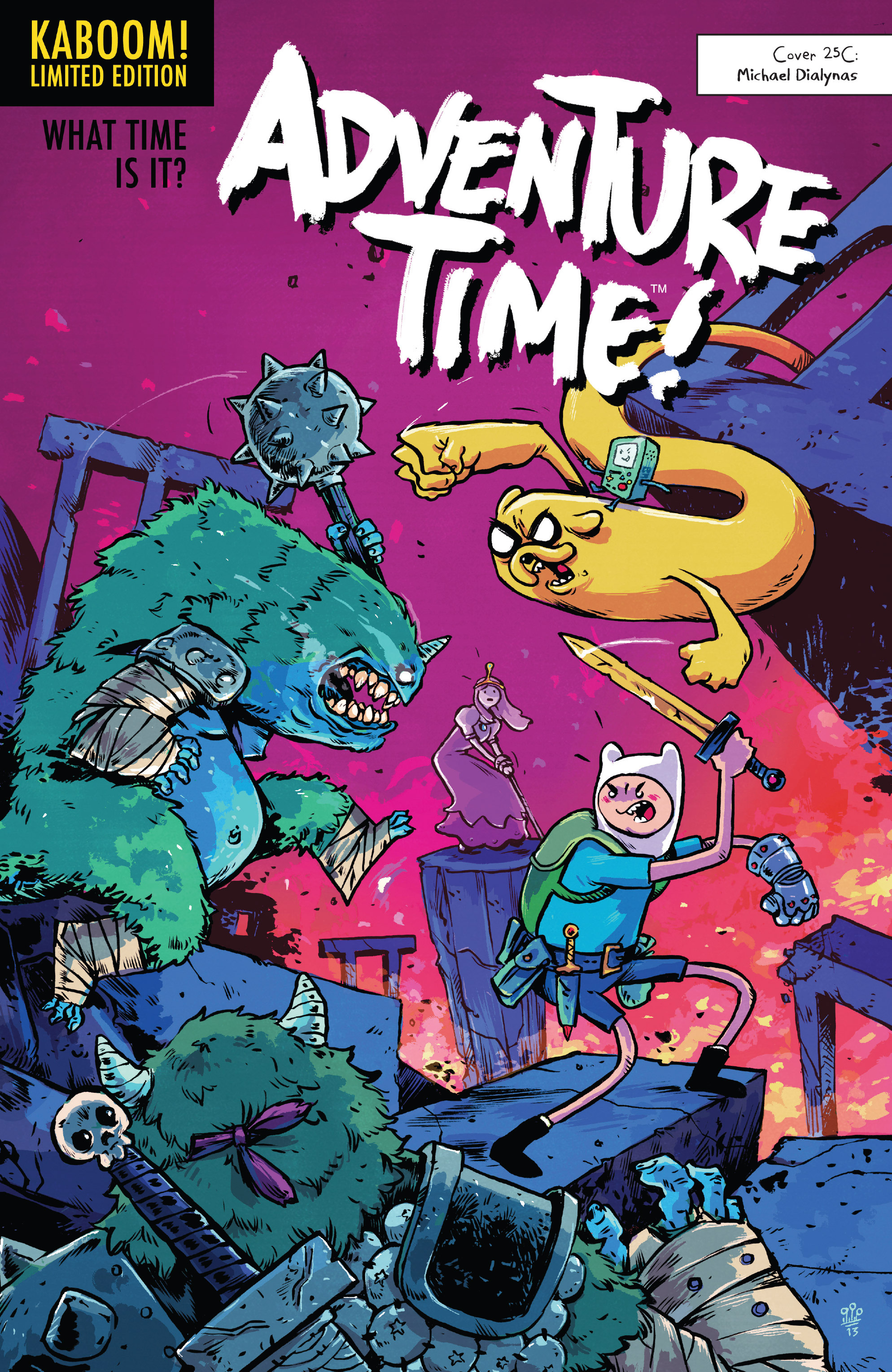 Read online Adventure Time comic -  Issue #Adventure Time _TPB 6 - 107