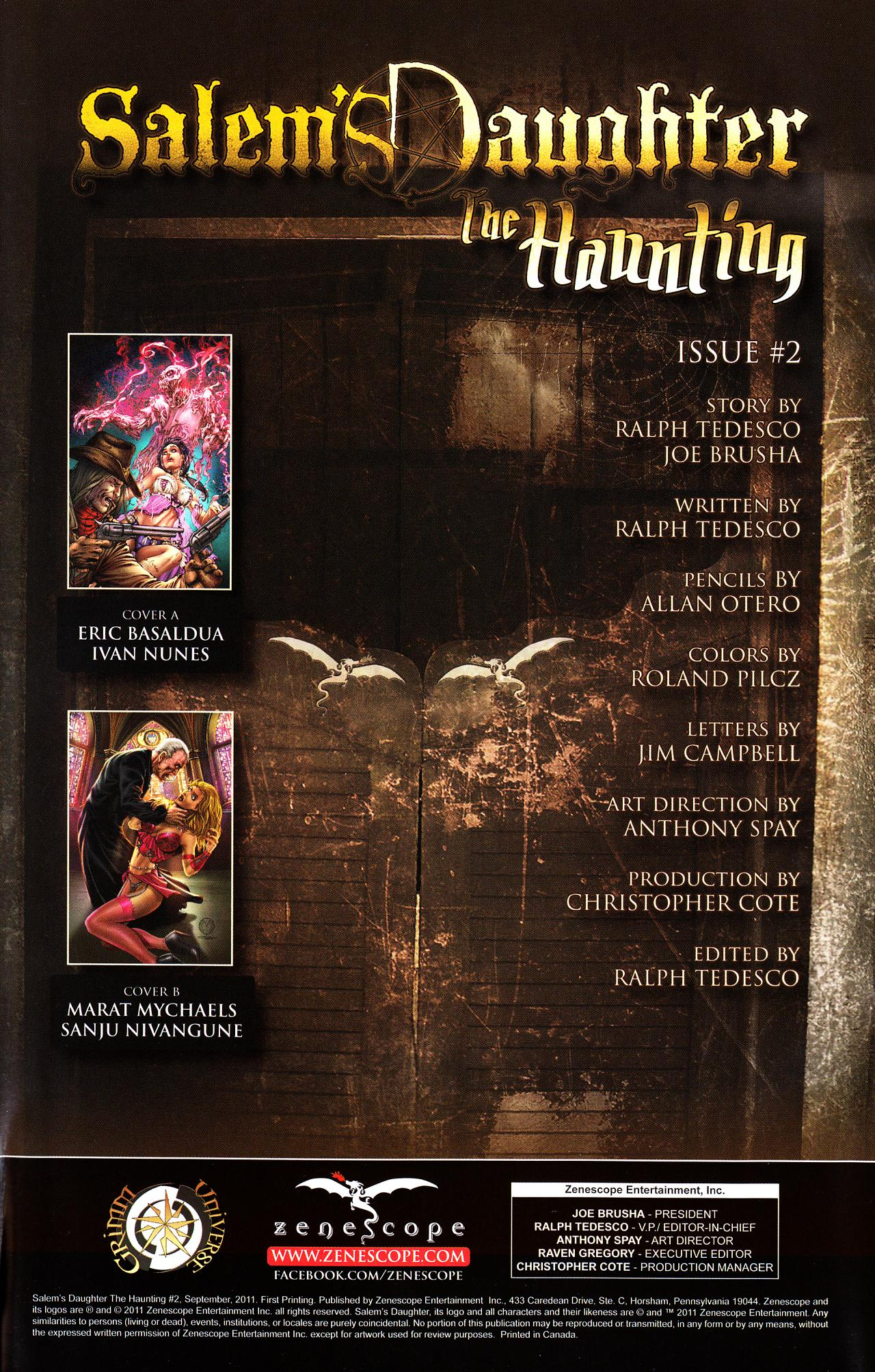 Read online Salem's Daughter: The Haunting comic -  Issue #2 - 3