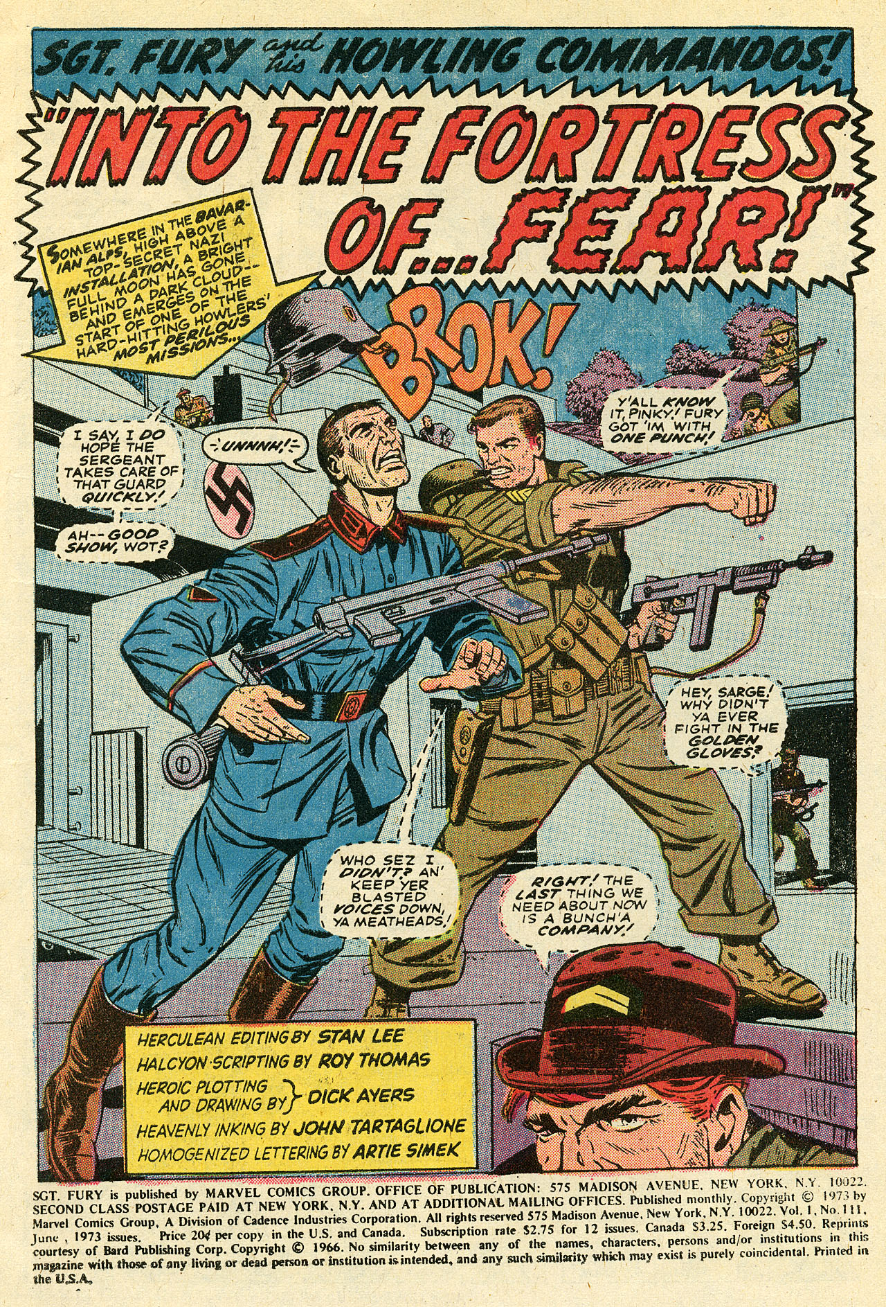 Read online Sgt. Fury comic -  Issue #111 - 3