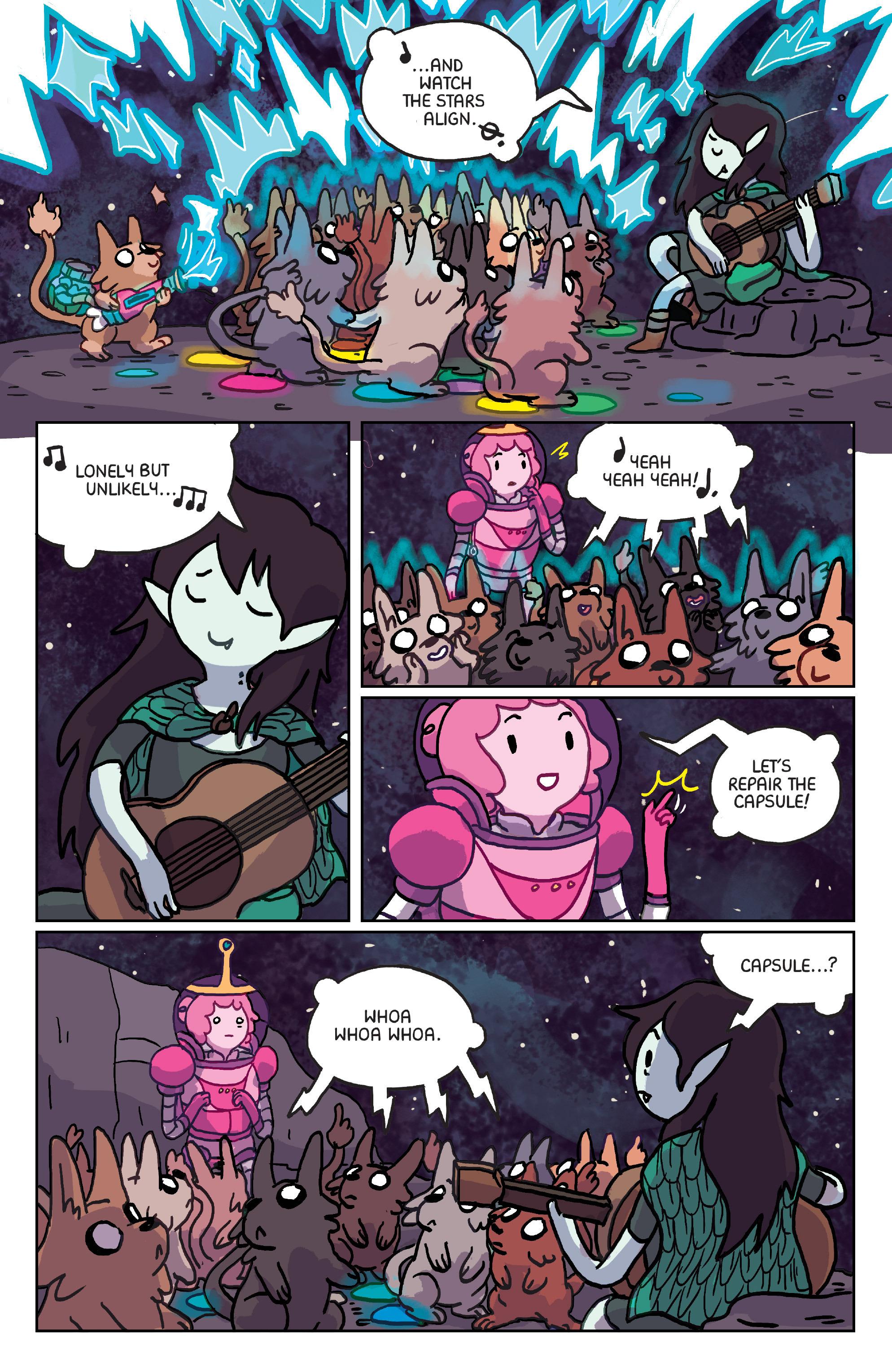 Read online Adventure Time: Marceline Gone Adrift comic -  Issue #6 - 9