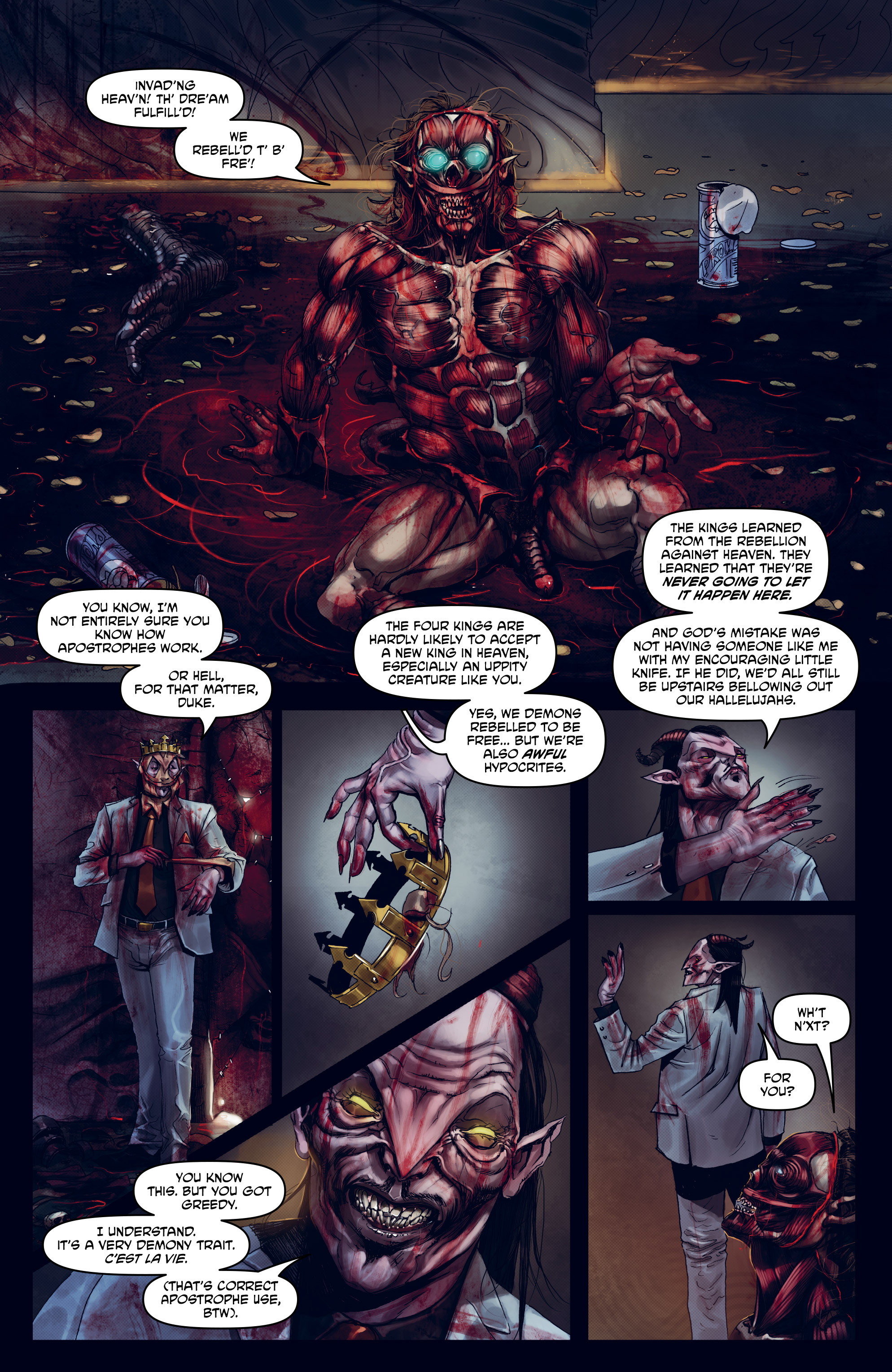 Read online God is Dead: Book of Acts comic -  Issue # Omega - 35