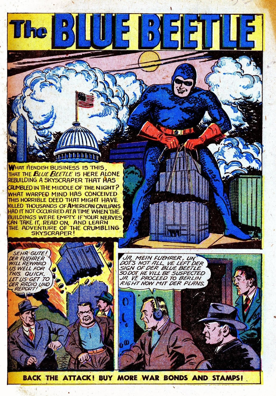 The Blue Beetle issue 31 - Page 3