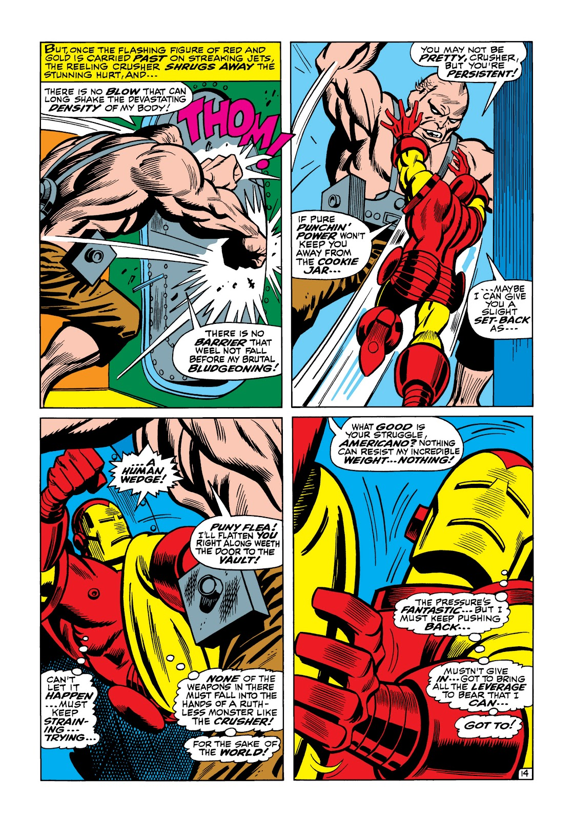 Read online Marvel Masterworks: The Invincible Iron Man comic -  Issue # TPB 5 (Part 2) - 5