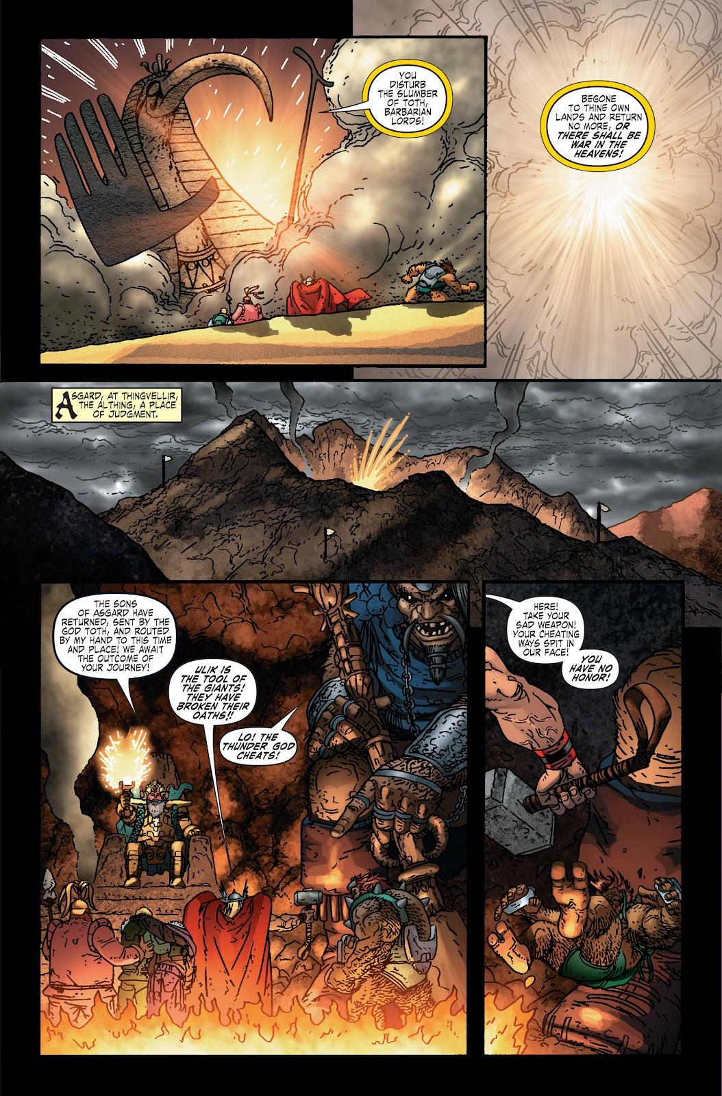 Read online Thor: Ragnaroks comic -  Issue # TPB (Part 2) - 25