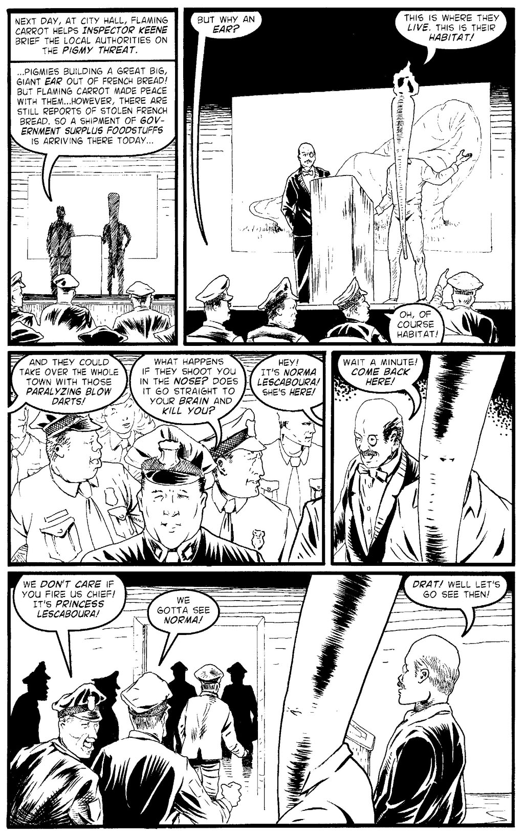 Read online Flaming Carrot Comics (2004) comic -  Issue #2 - 15