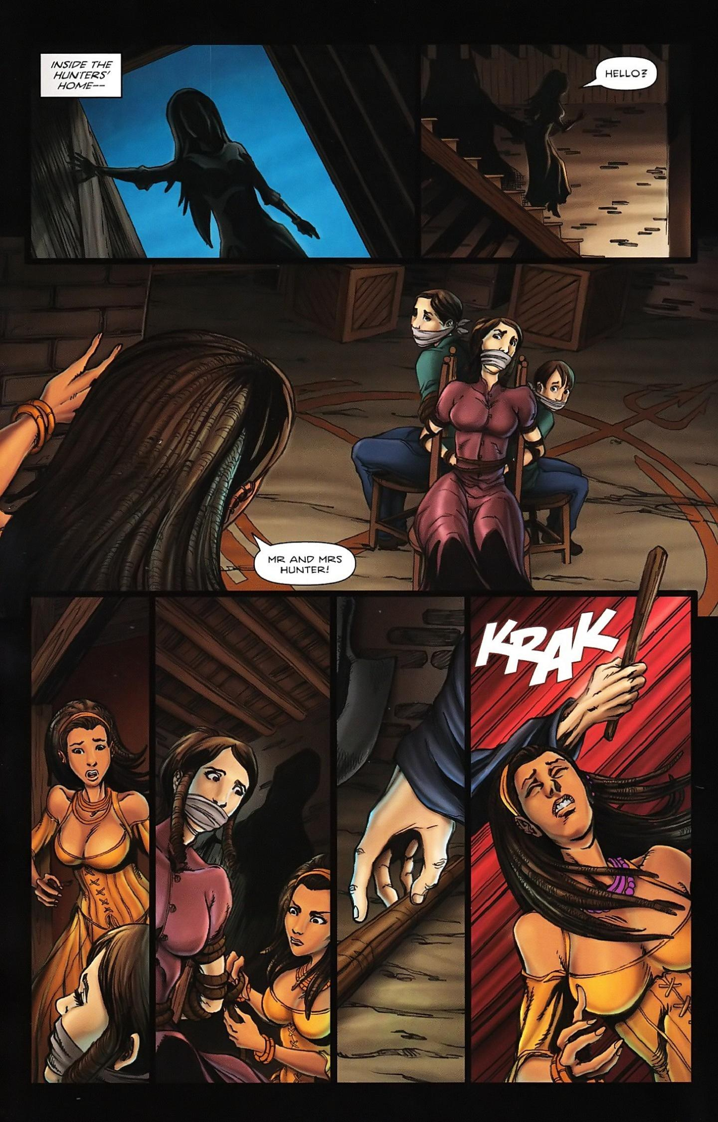 Read online Salem's Daughter: The Haunting comic -  Issue #5 - 12