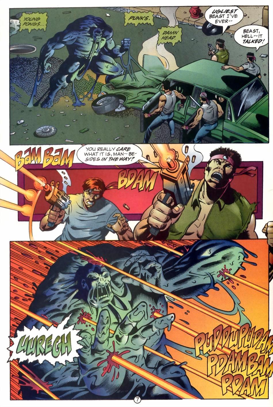 Read online Sludge comic -  Issue #1 - 8