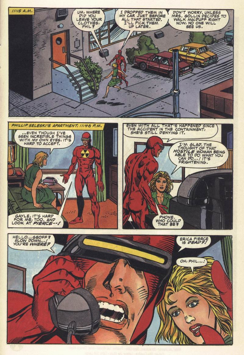 Read online Solar, Man of the Atom comic -  Issue #11 - 22