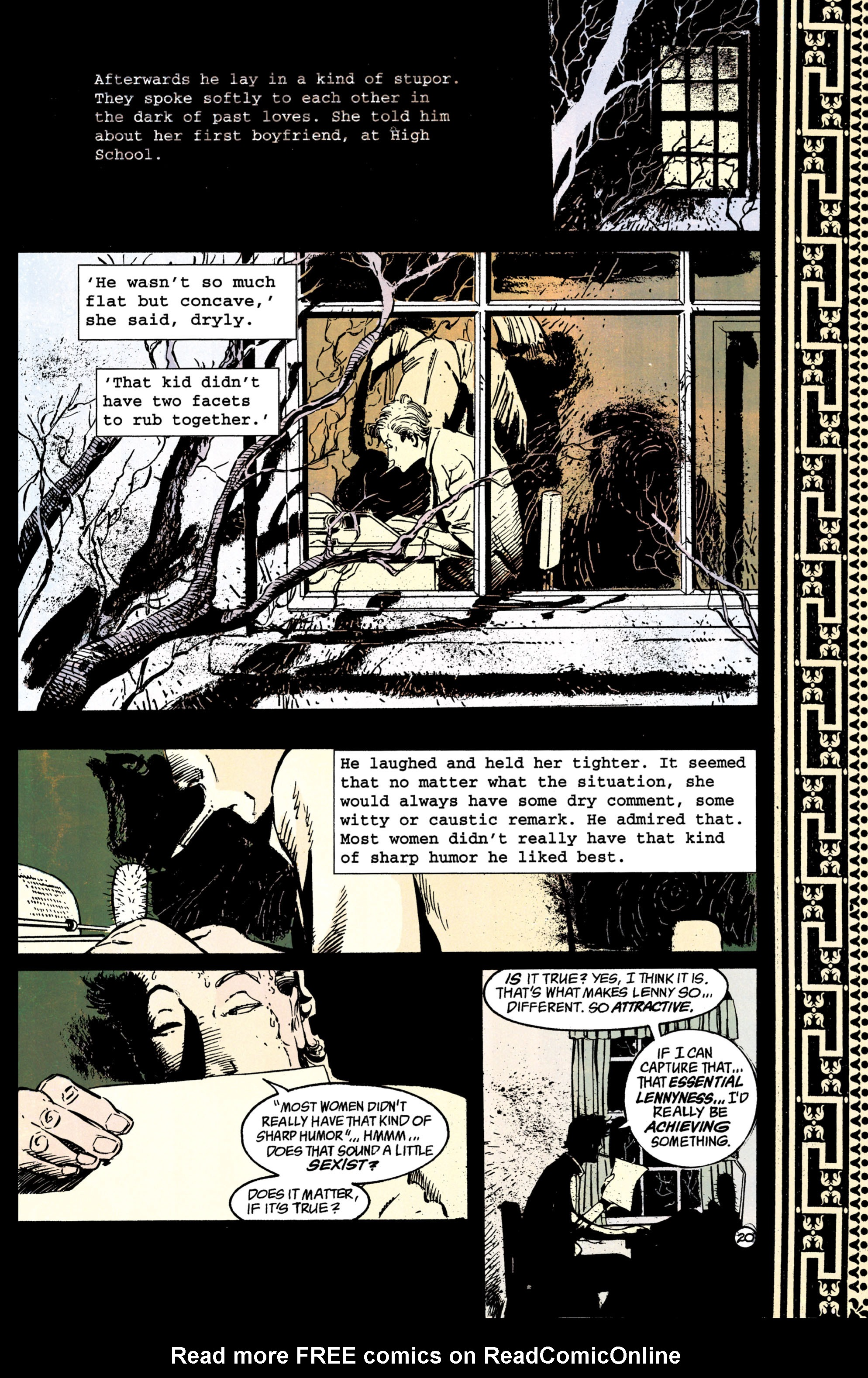 Read online Shade, the Changing Man comic -  Issue #38 - 21