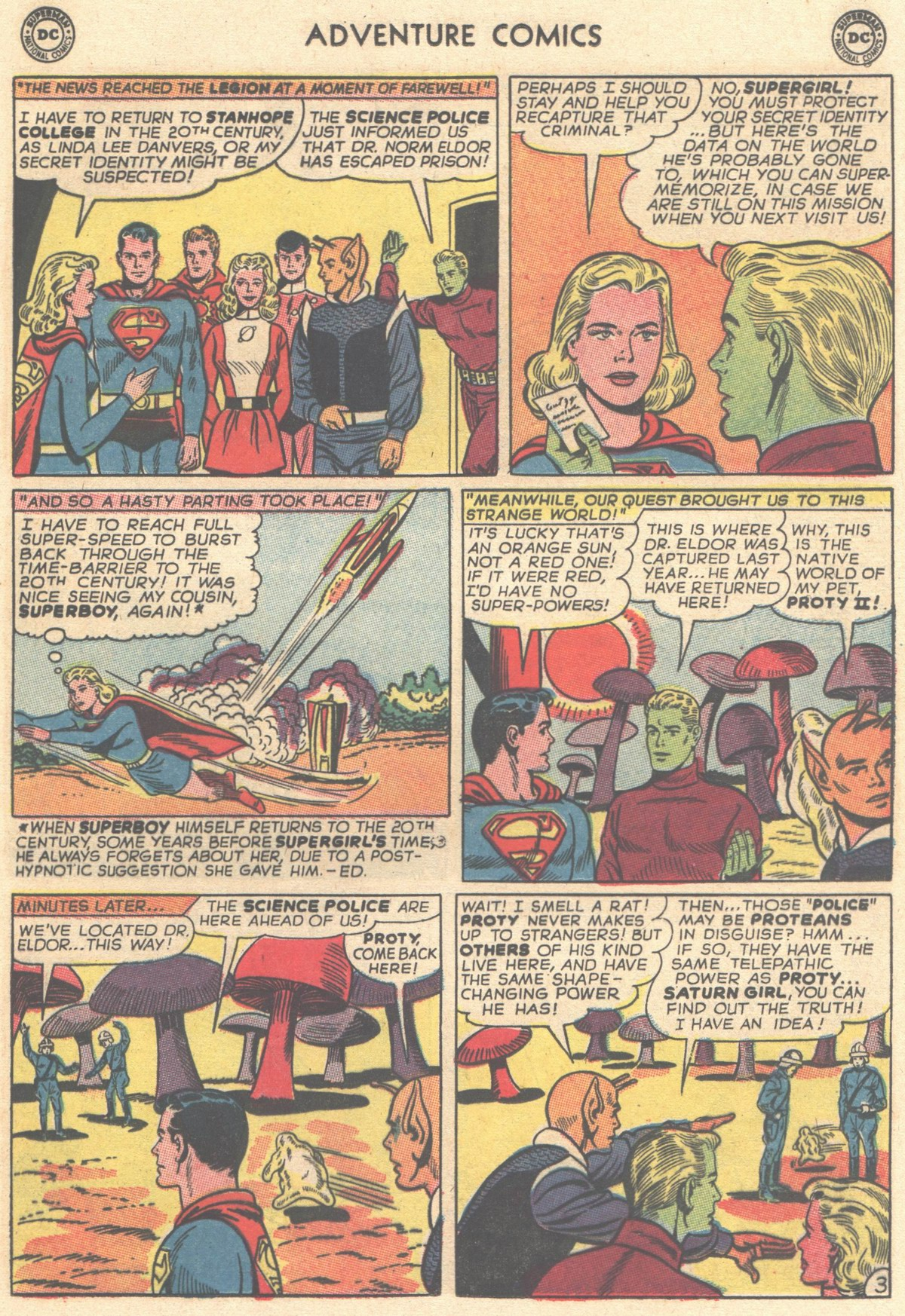 Read online Adventure Comics (1938) comic -  Issue #334 - 5