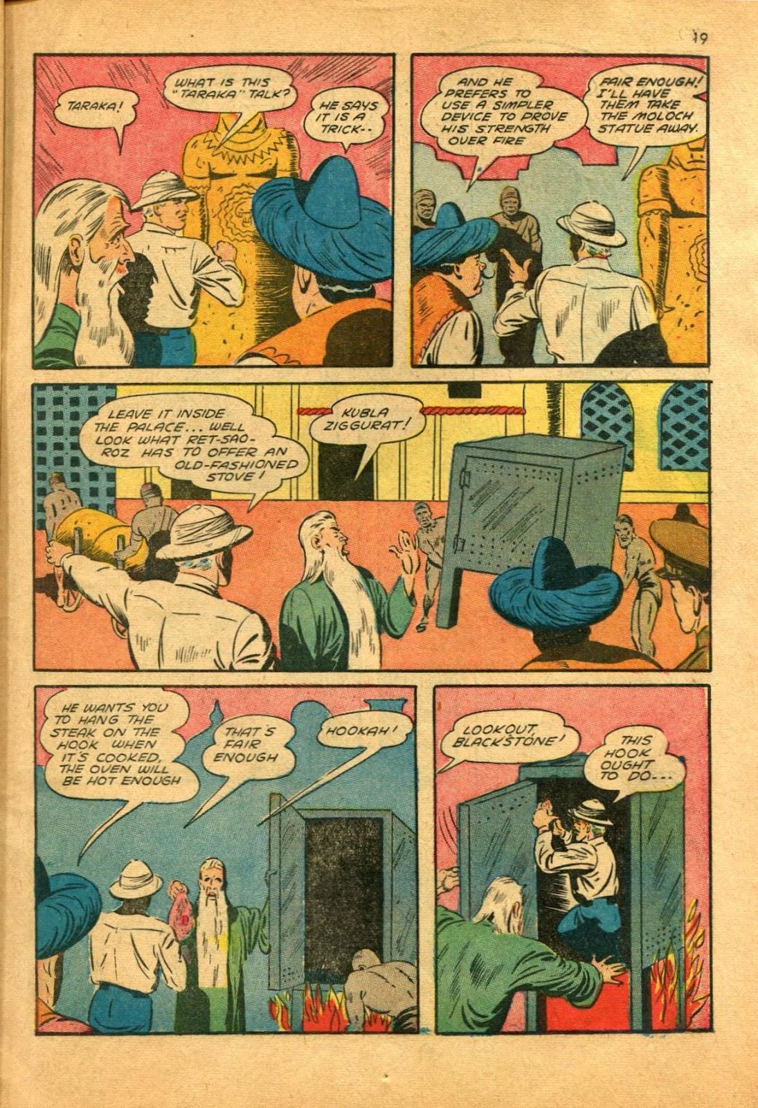 Read online Super-Magician Comics comic -  Issue #11 - 19