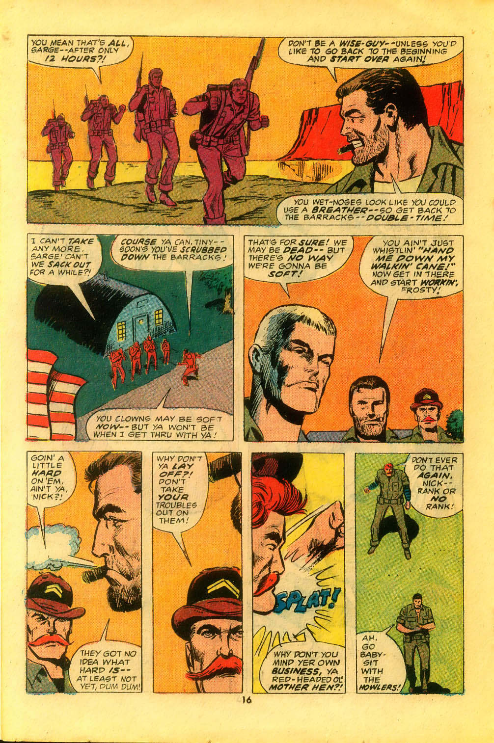 Read online Sgt. Fury comic -  Issue #116 - 18