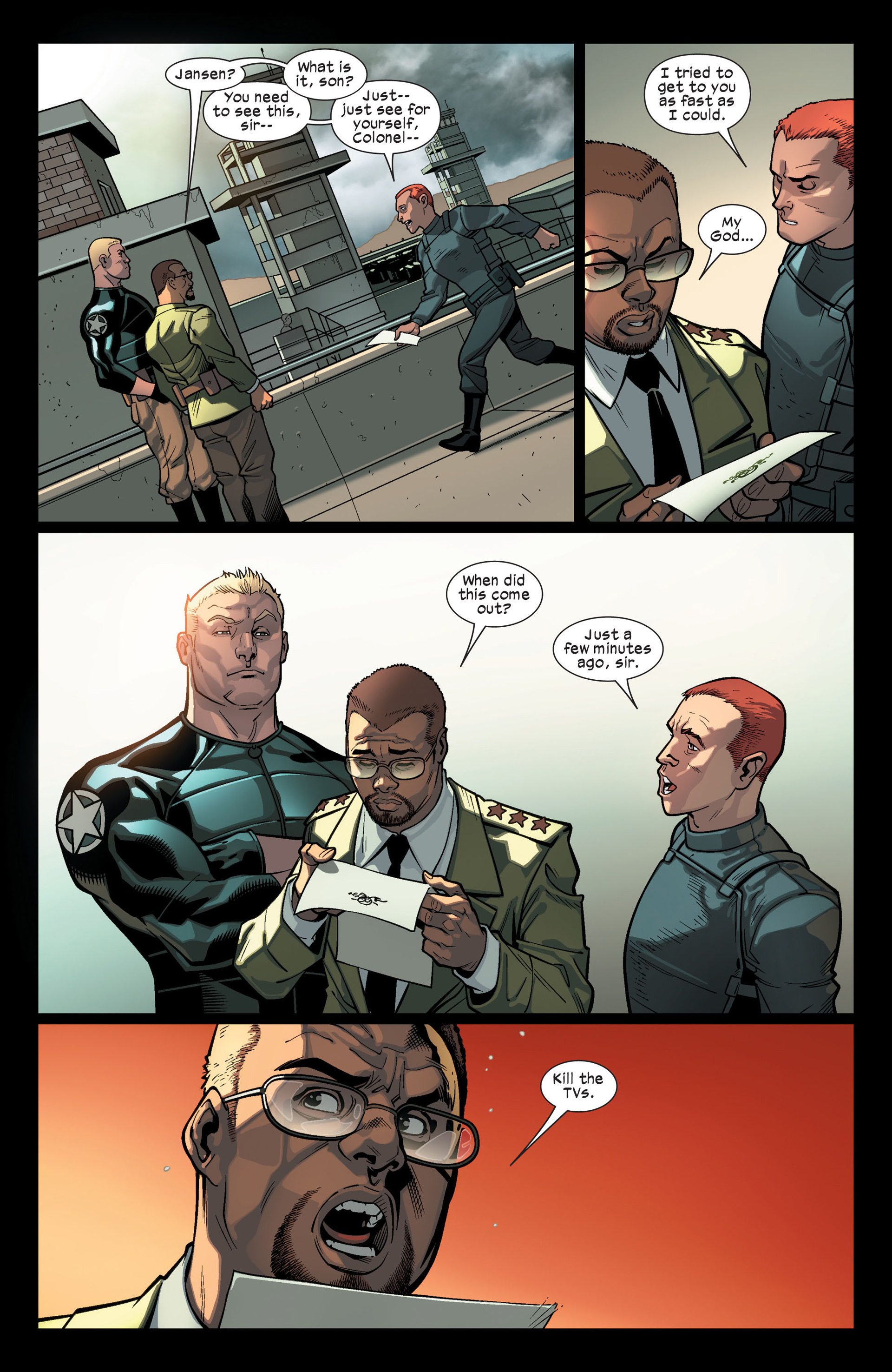 Read online Ultimate Comics X-Men comic -  Issue #9 - 11