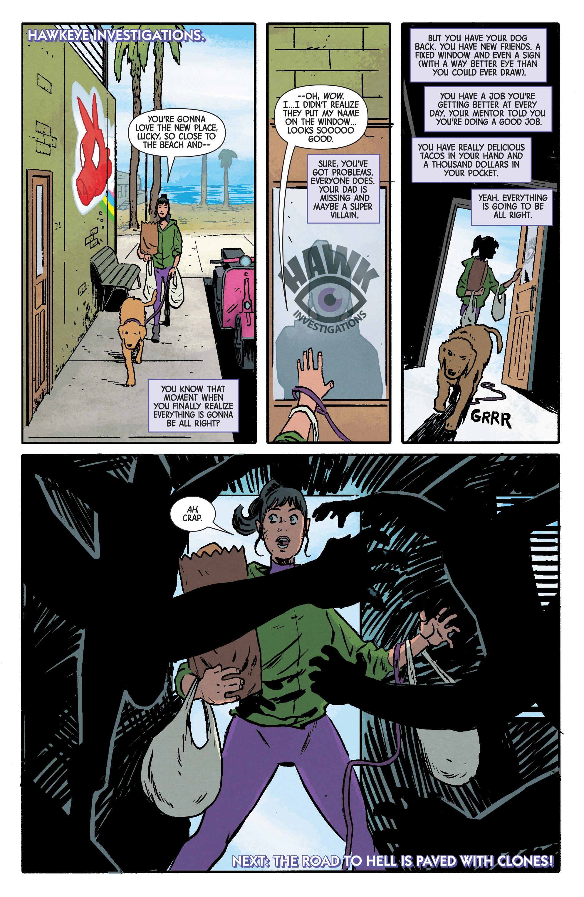 Read online Hawkeye (2016) comic -  Issue #6 - 21