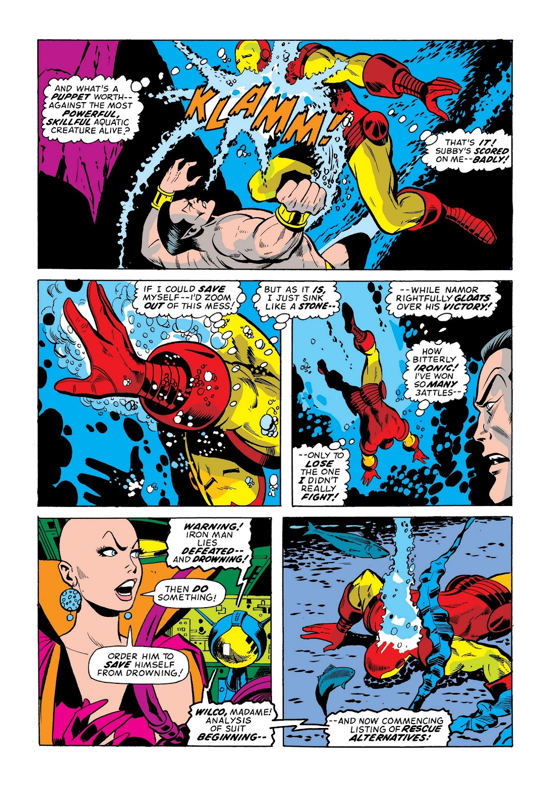 Read online Marvel Masterworks: The Invincible Iron Man comic -  Issue # TPB 9 (Part 1) - 19